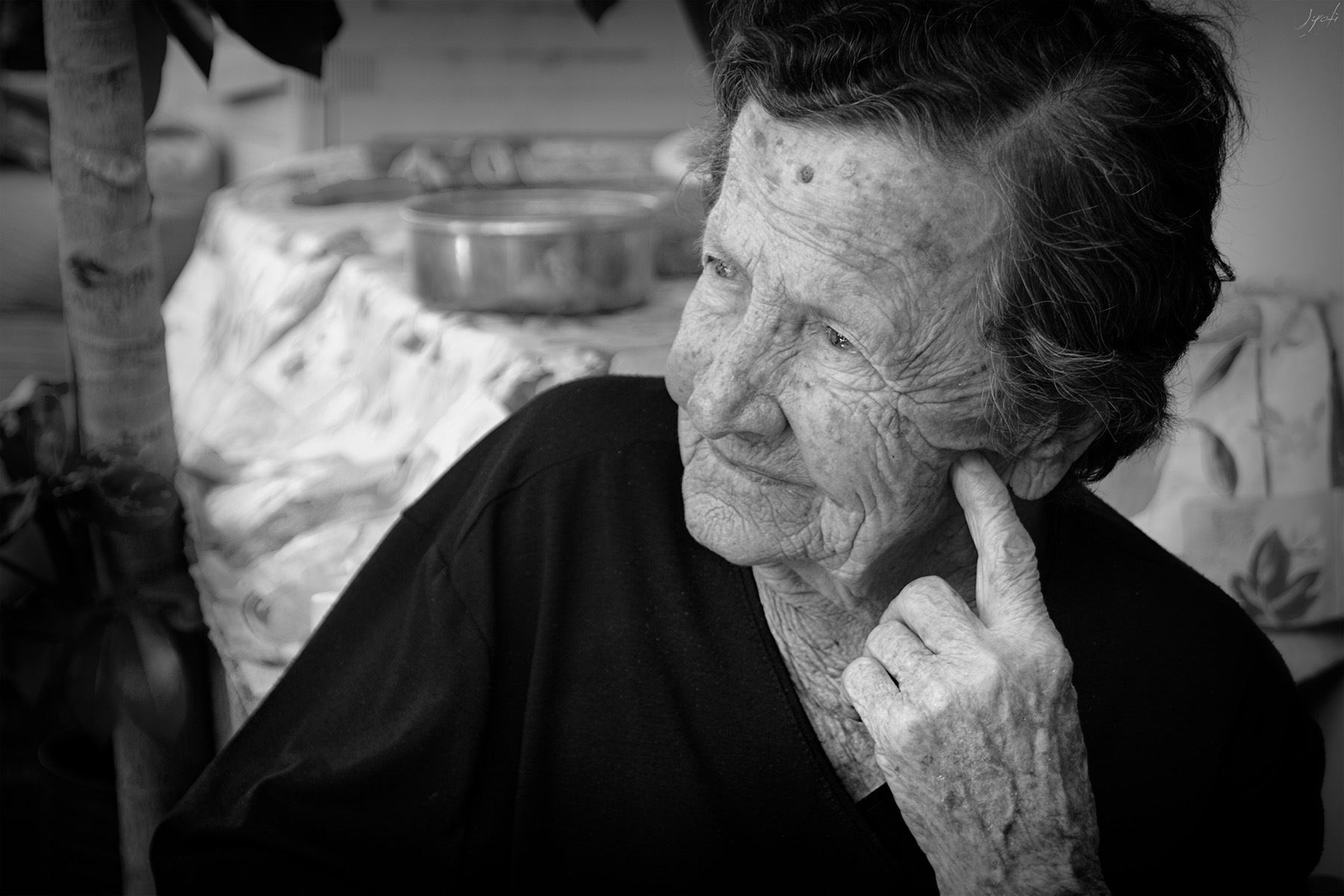 Anna, from Greece, 90 by Jyoti Pictures