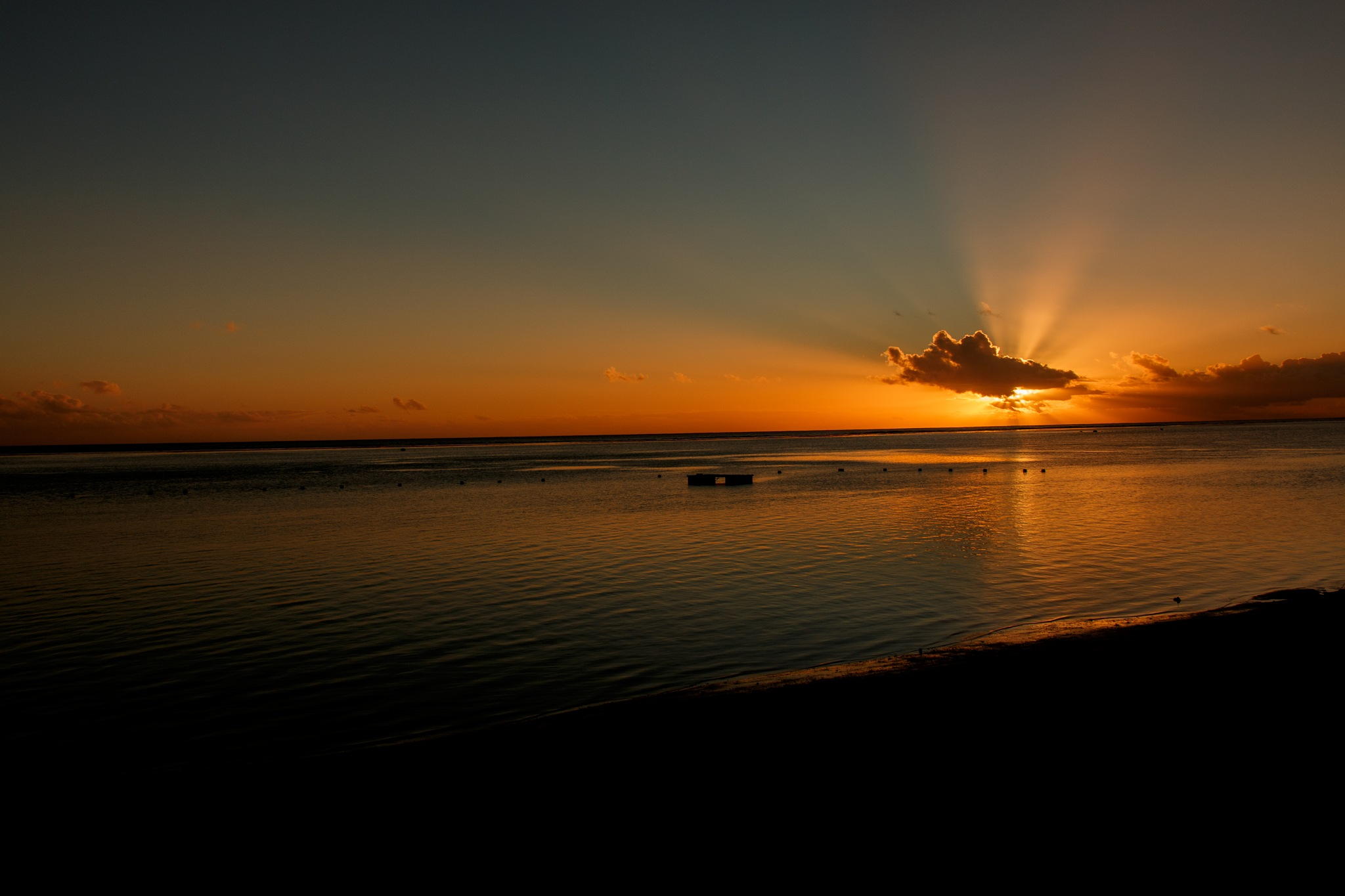 Playa mauriciana by Luisbaneres