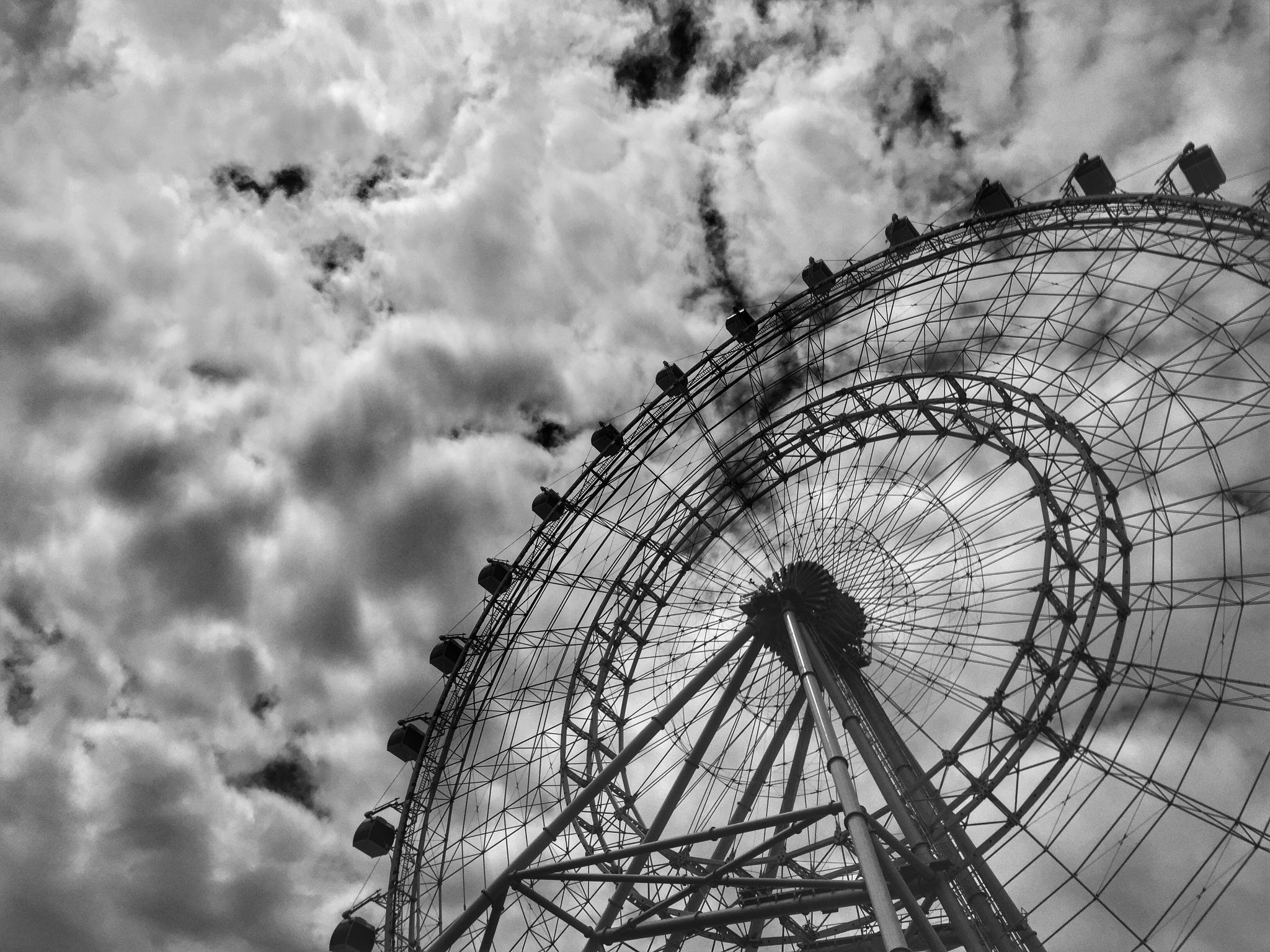 Orlando Eye by Stuart Rosenthal