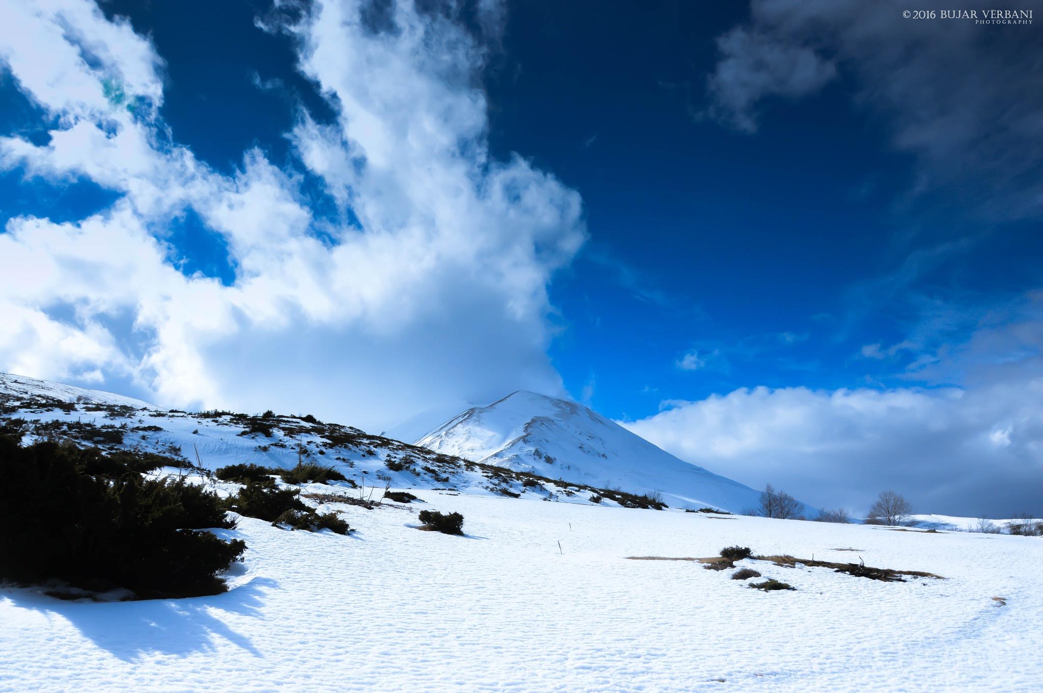 Mountain of Lybeten 2498 Meter by Bujar Vërbani