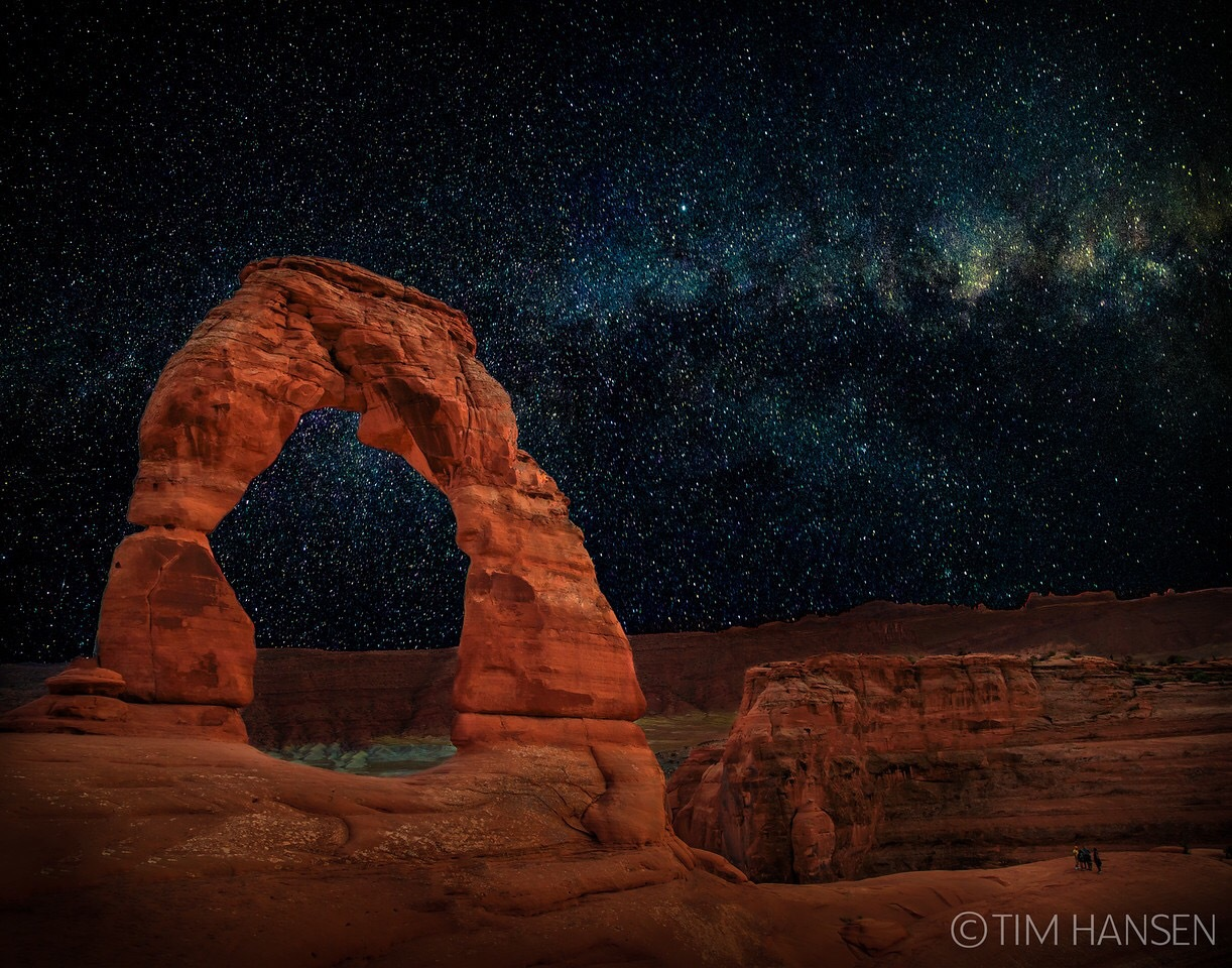 Delicate Arch, Arches National Park by Tim Hansen