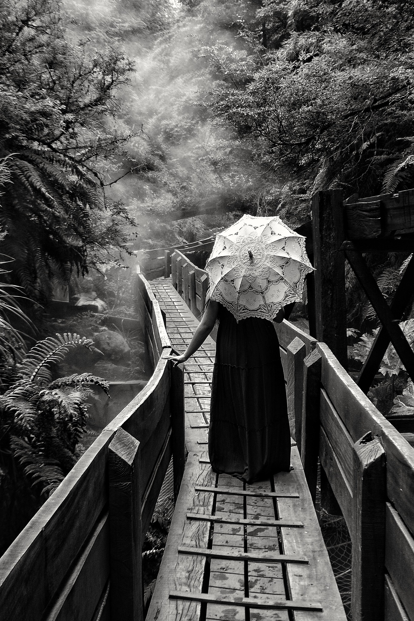 Sombrilla  by Natalia Cea Saldias