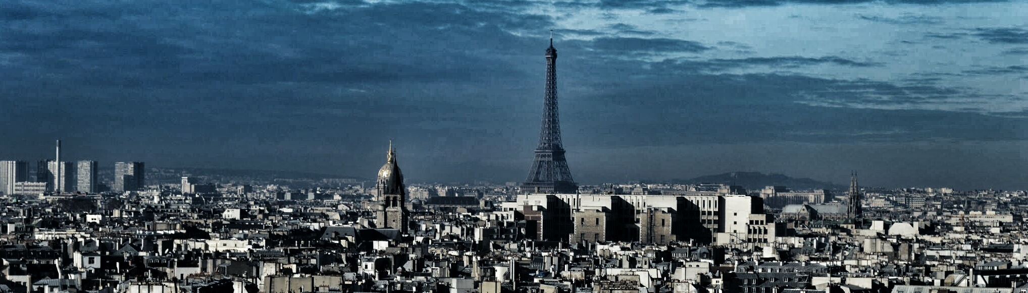 Dark Paris by CaballerodeGracia