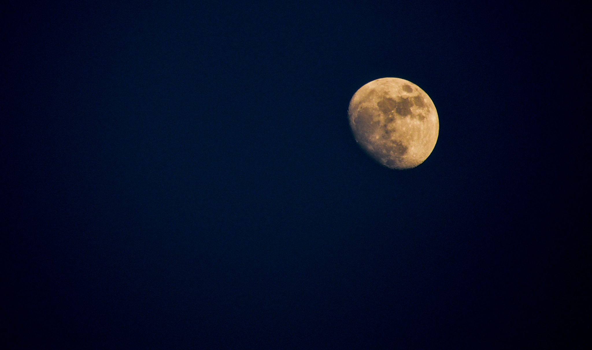The Moon  by Ismailbenmouhani