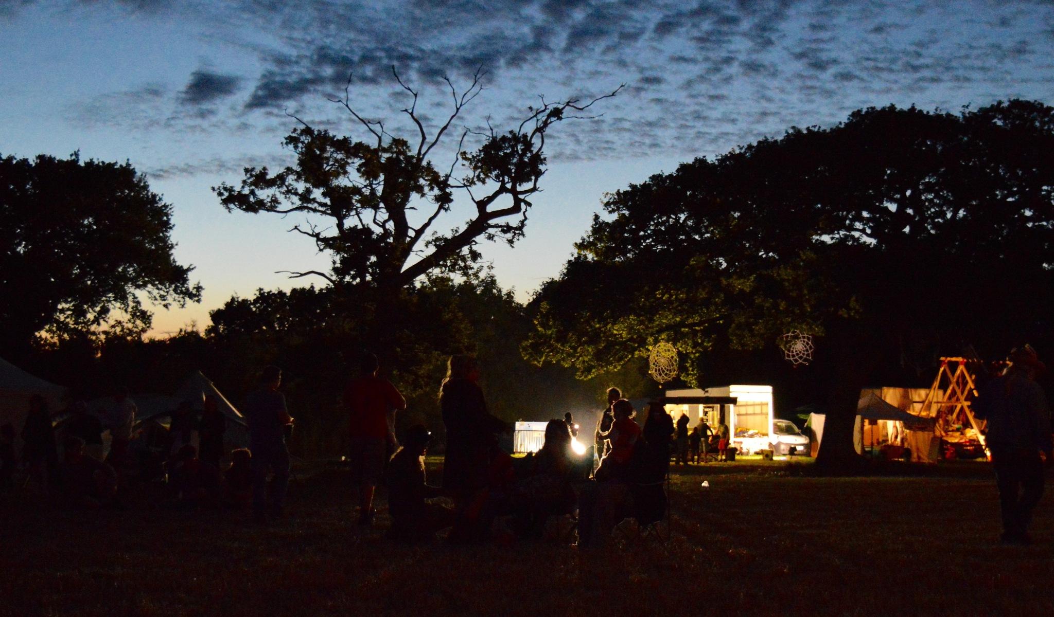 Festival nights  by Jonathan Bull