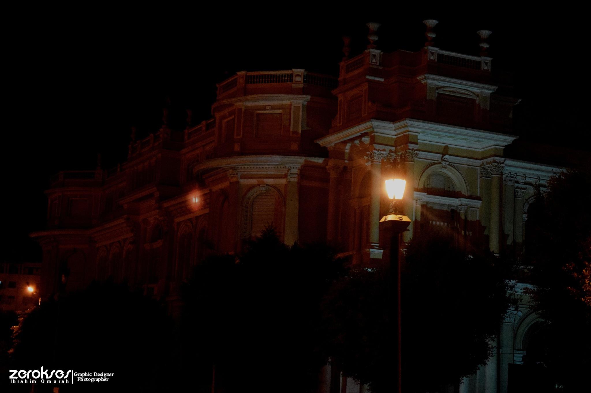 palace by Ibrahim Omarah