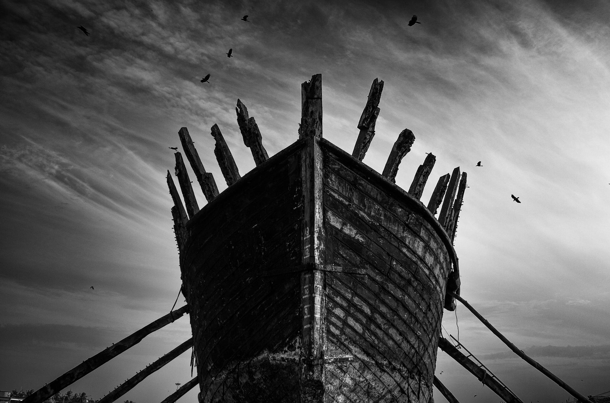 """""""An old boat """" by bilal05"""