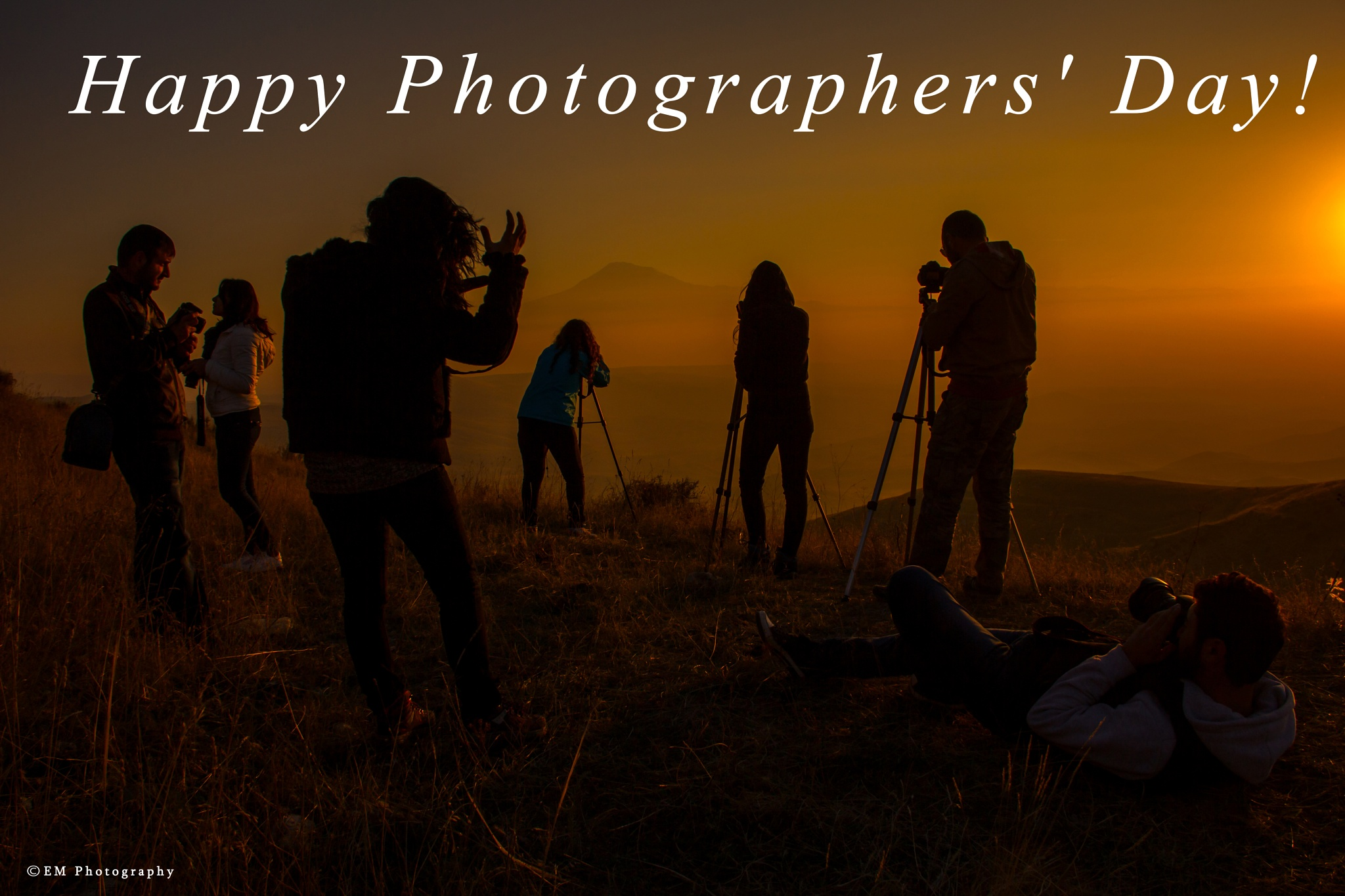 Happy Photographers' Day! by Edgar Martirosyan
