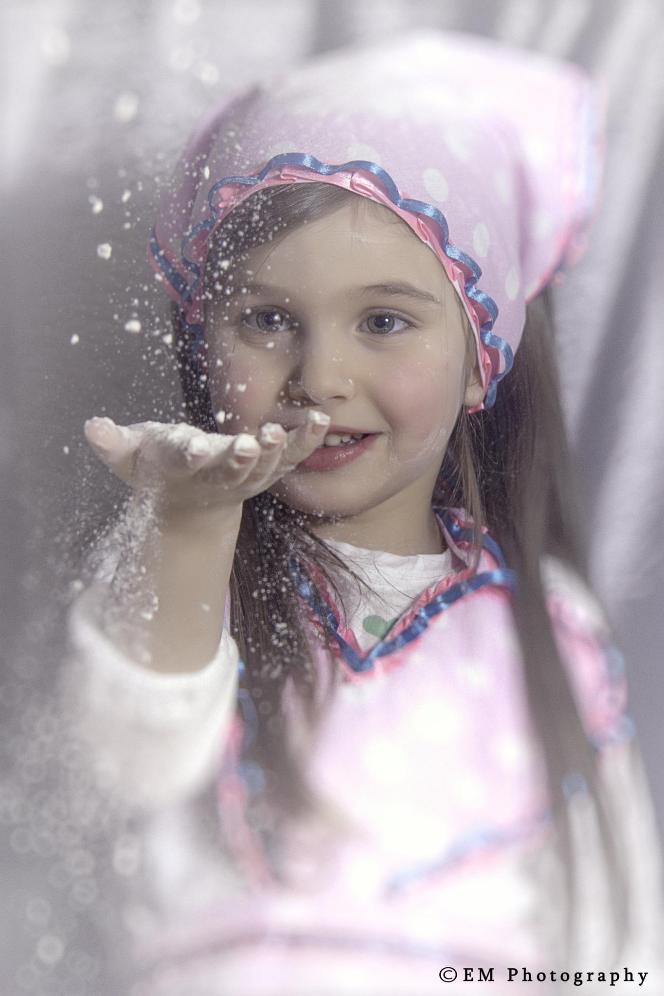 flour girl by Edgar Martirosyan