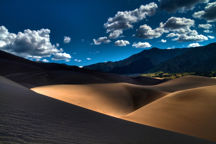 Great Sand Dunes National Park  by Bucket List Map