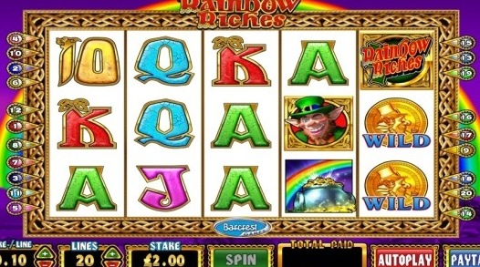 Rainbow Riches Slot Machine by callumriley