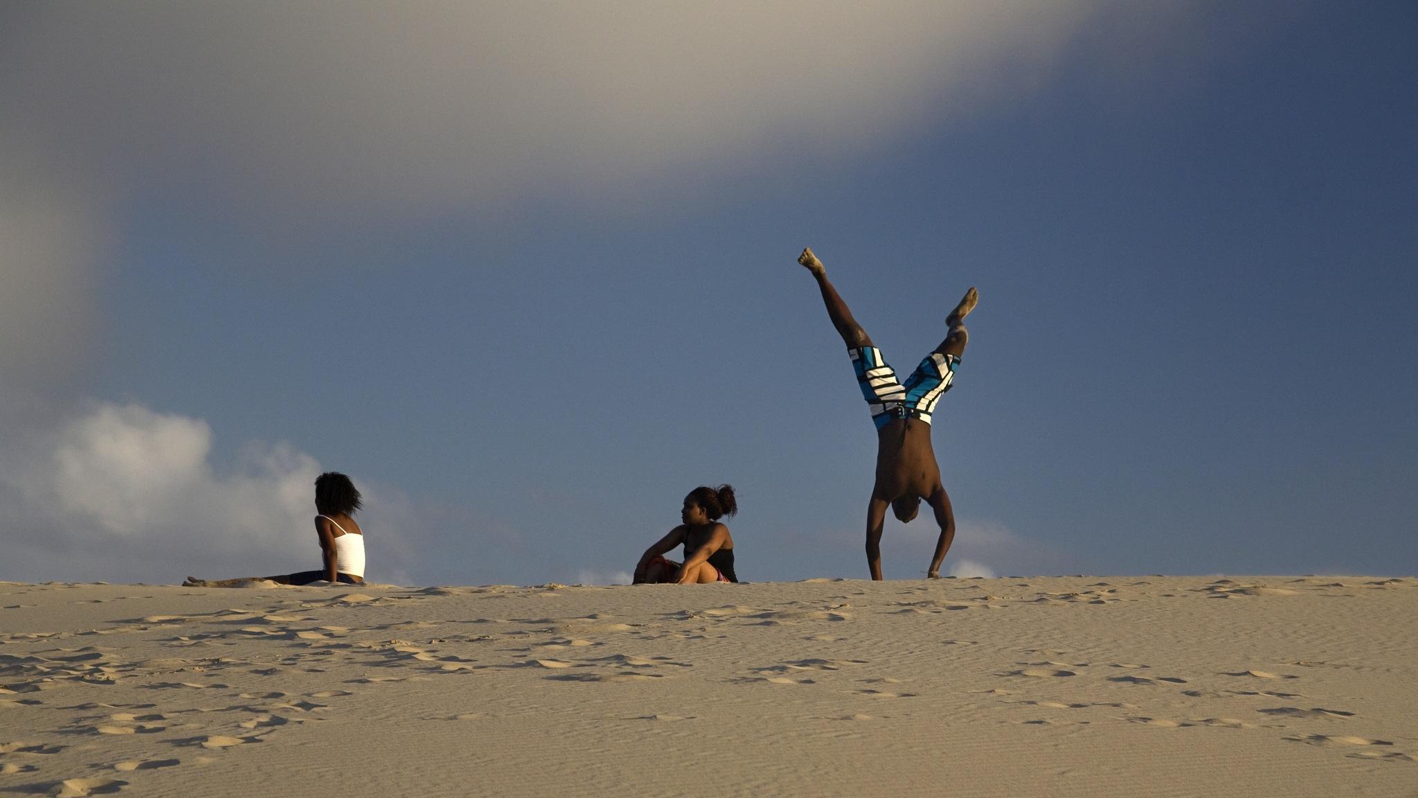 Dune Acrobat by Michael Feistel