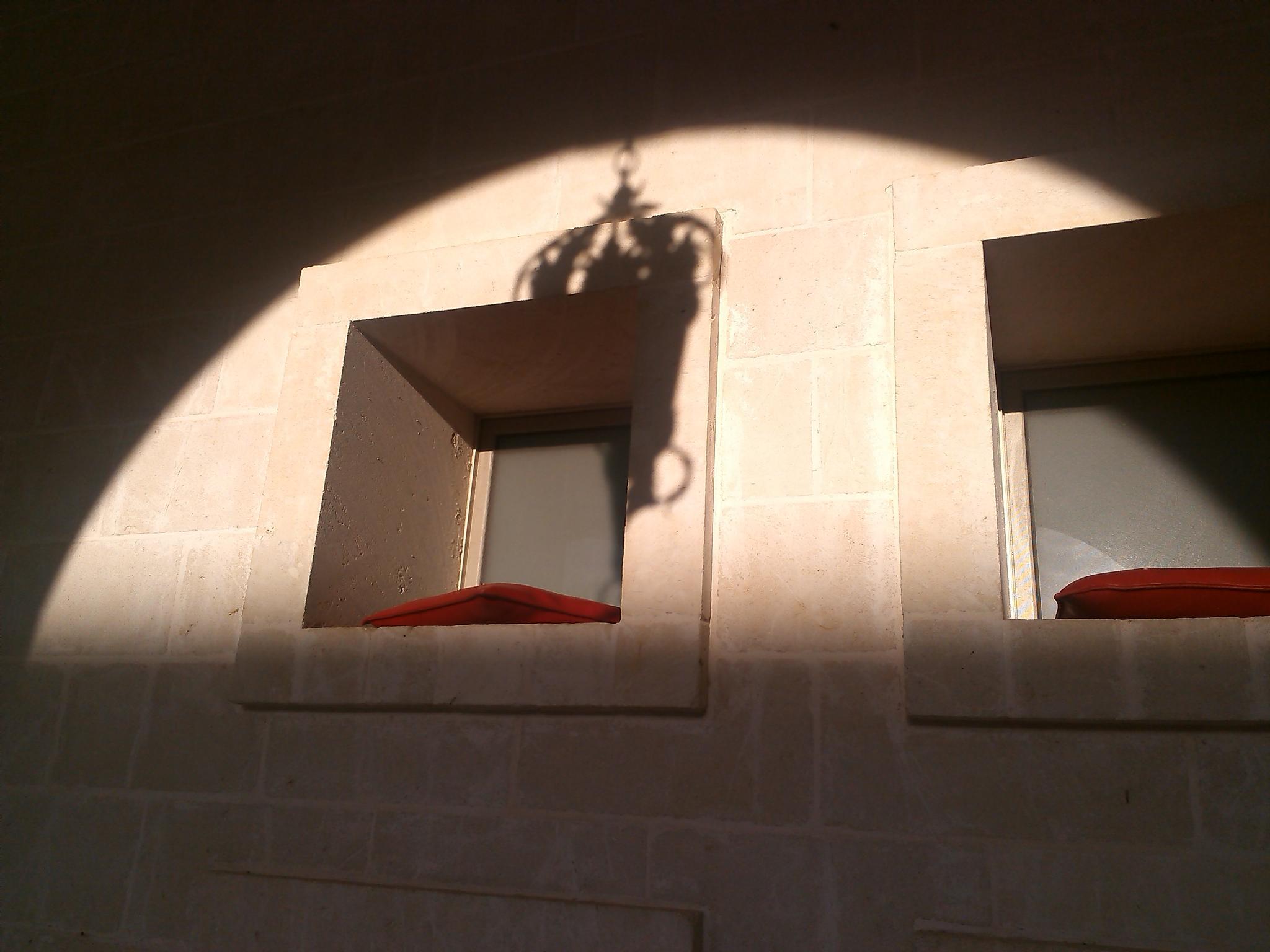 Shadow over windows by Renato Nacci