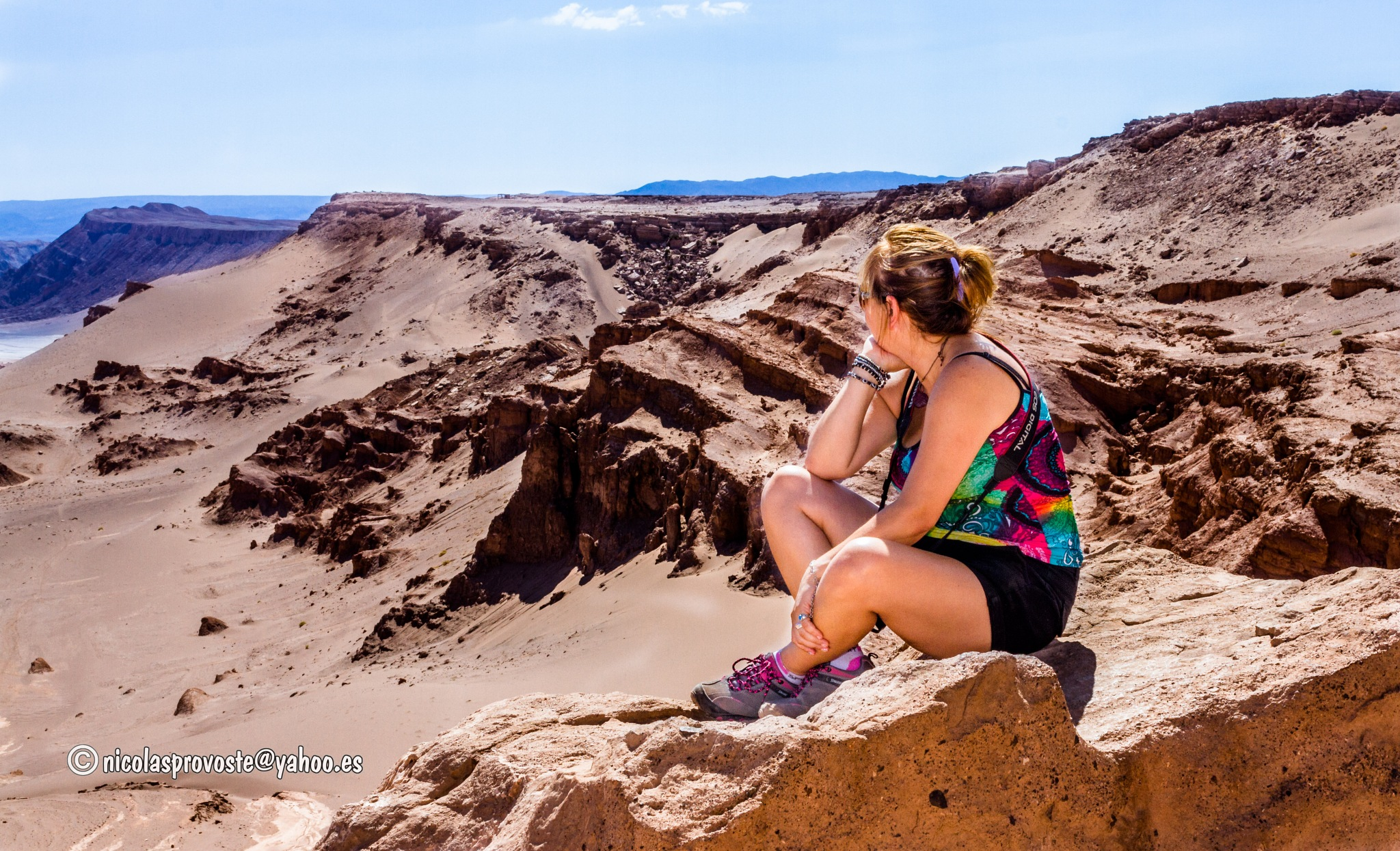 Con vista al desierto de Atacama by nicolasprovoste