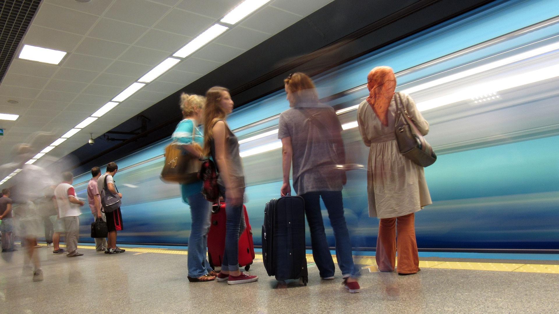 Istanbul Subway  by Faruk Koçak