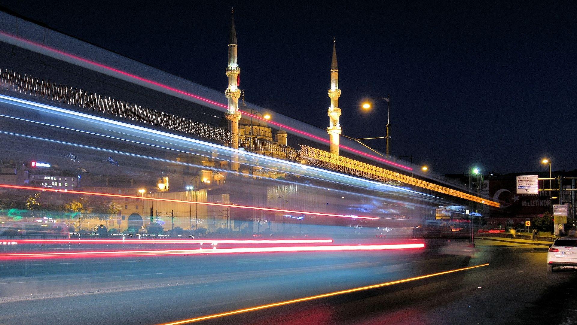 Istanbul At Night  by Faruk Koçak