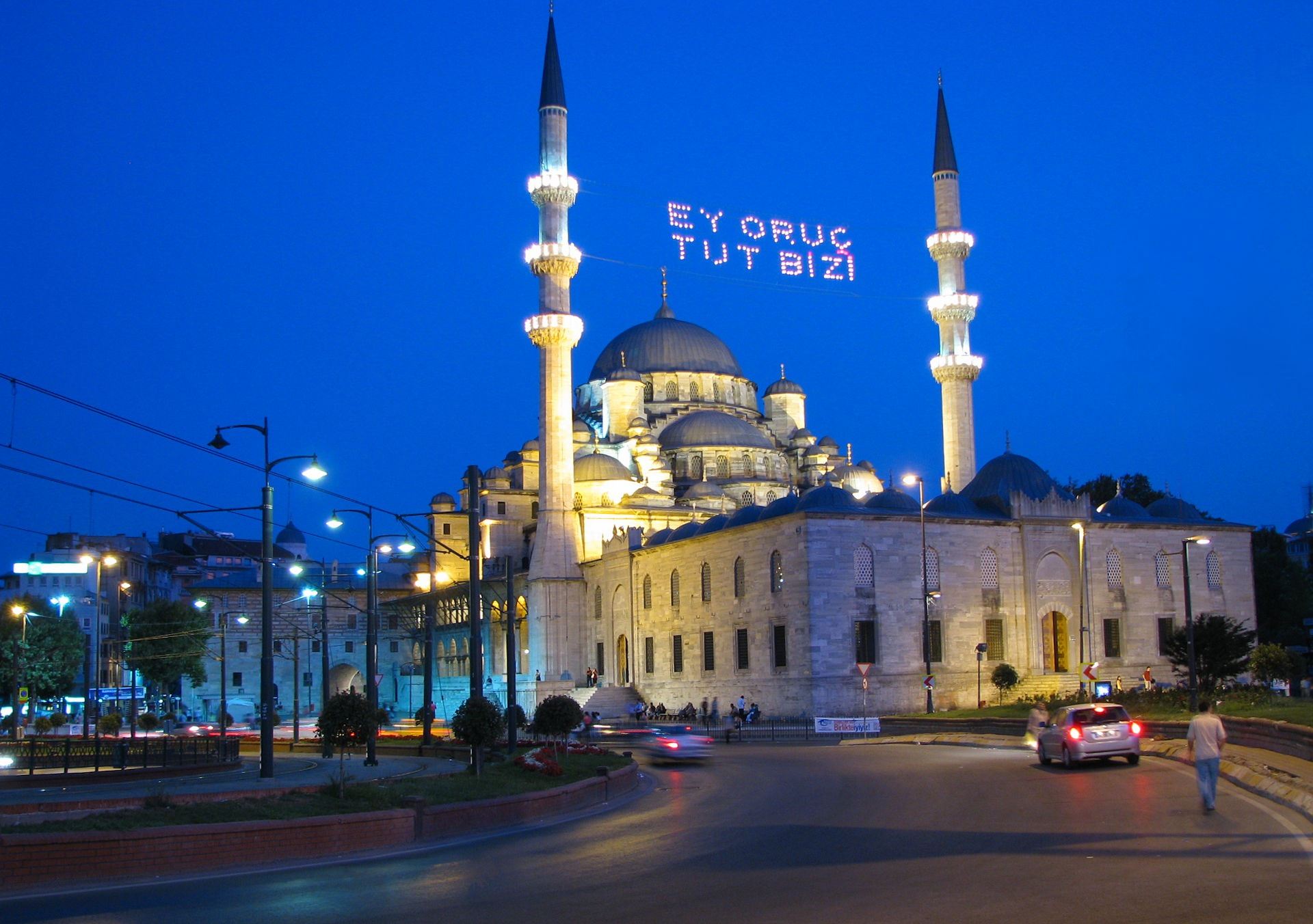 Istanbul New Mosque At Night  by Faruk Koçak