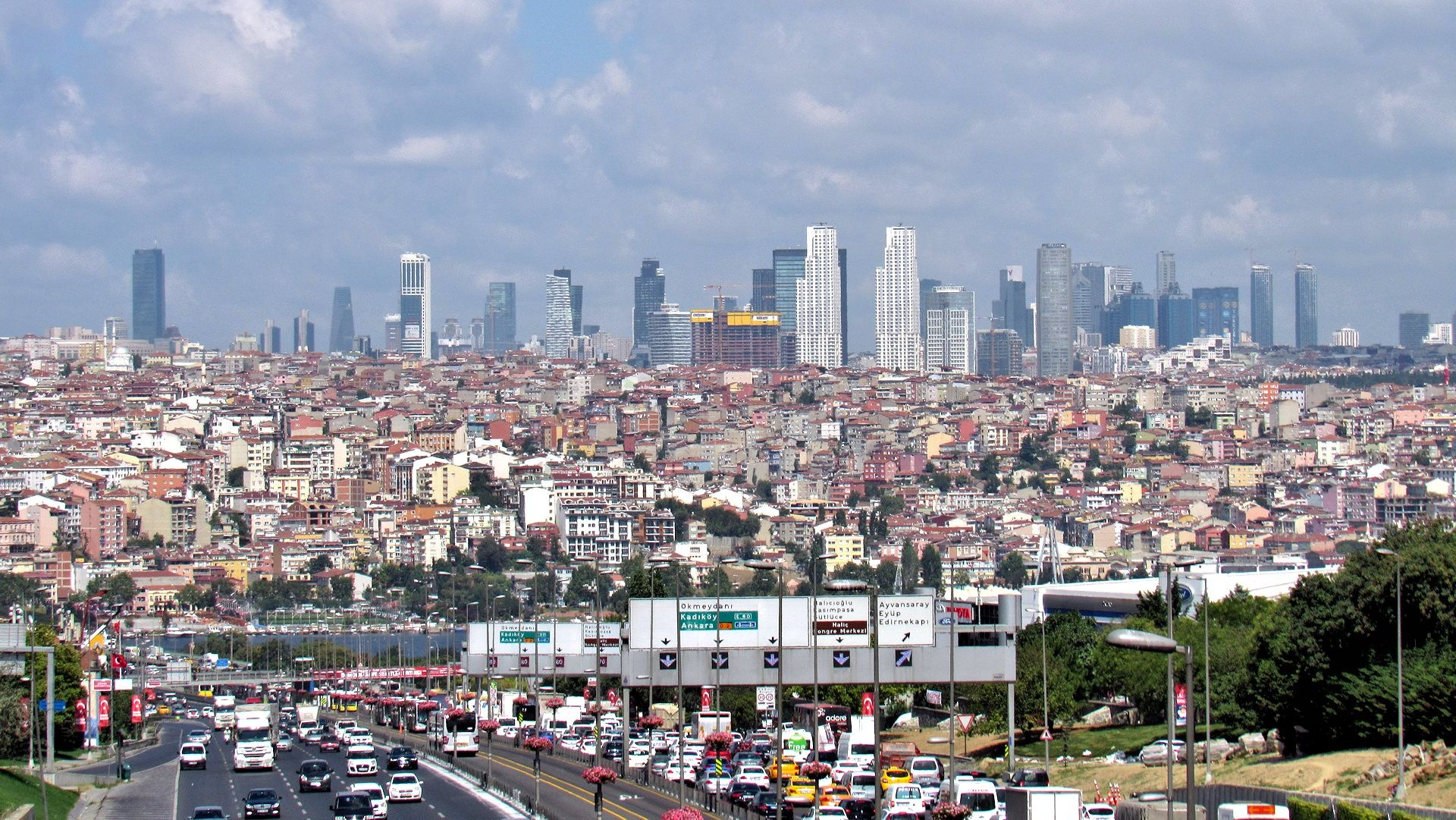 Istanbul Skyscrapers by Faruk Koçak