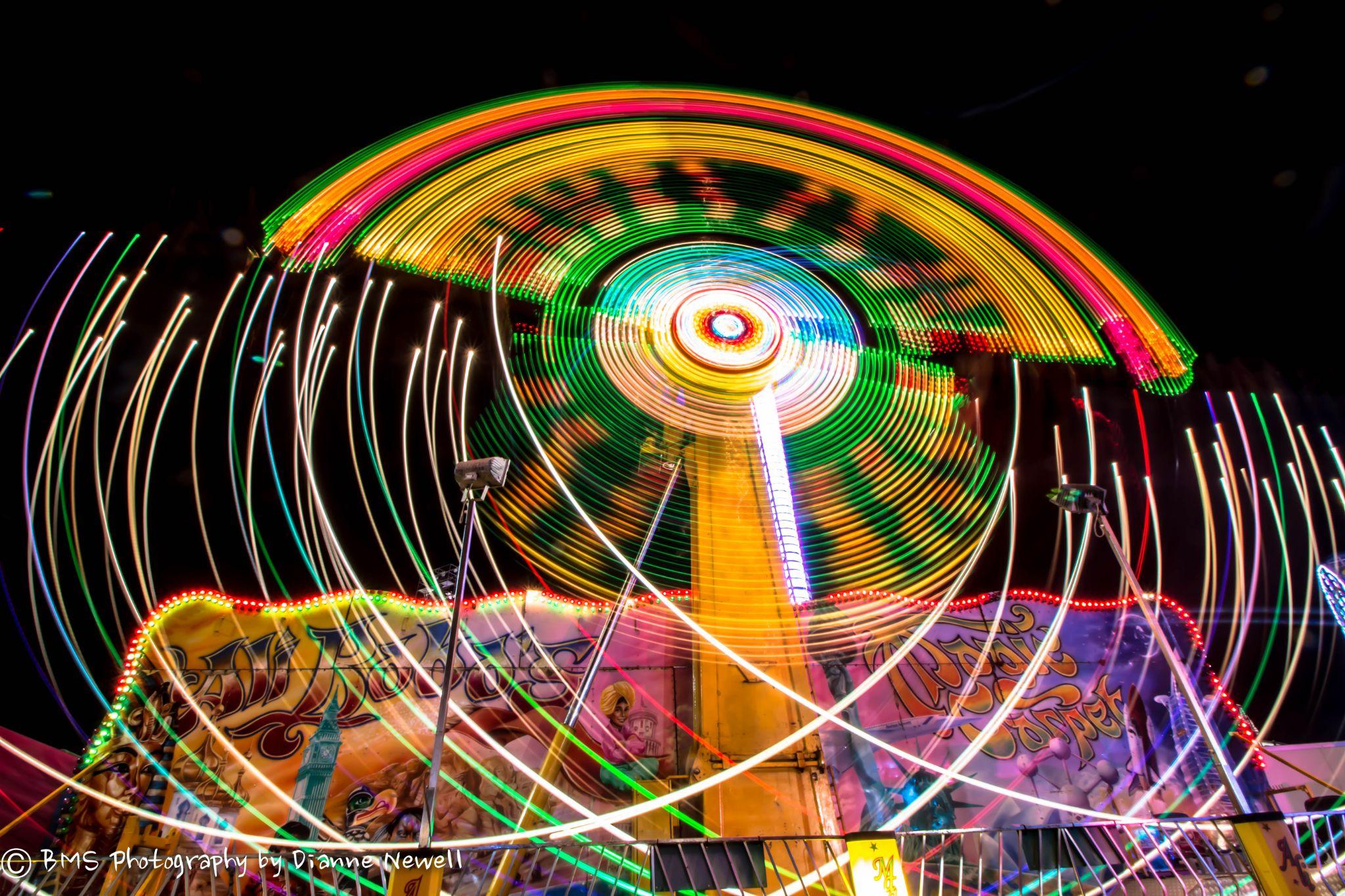 Rainbow lights by BMS Photography