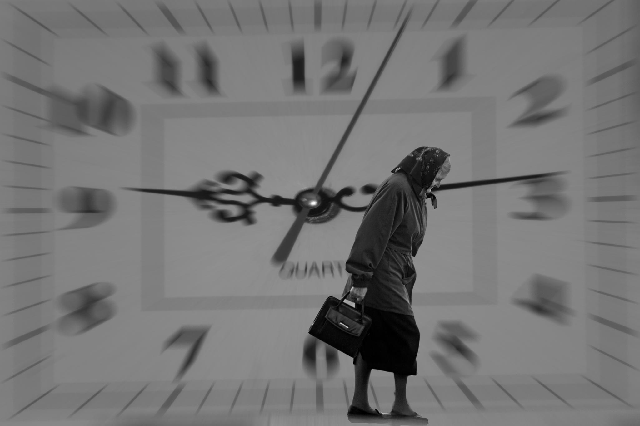 Time... by Zenonas Meškauskas