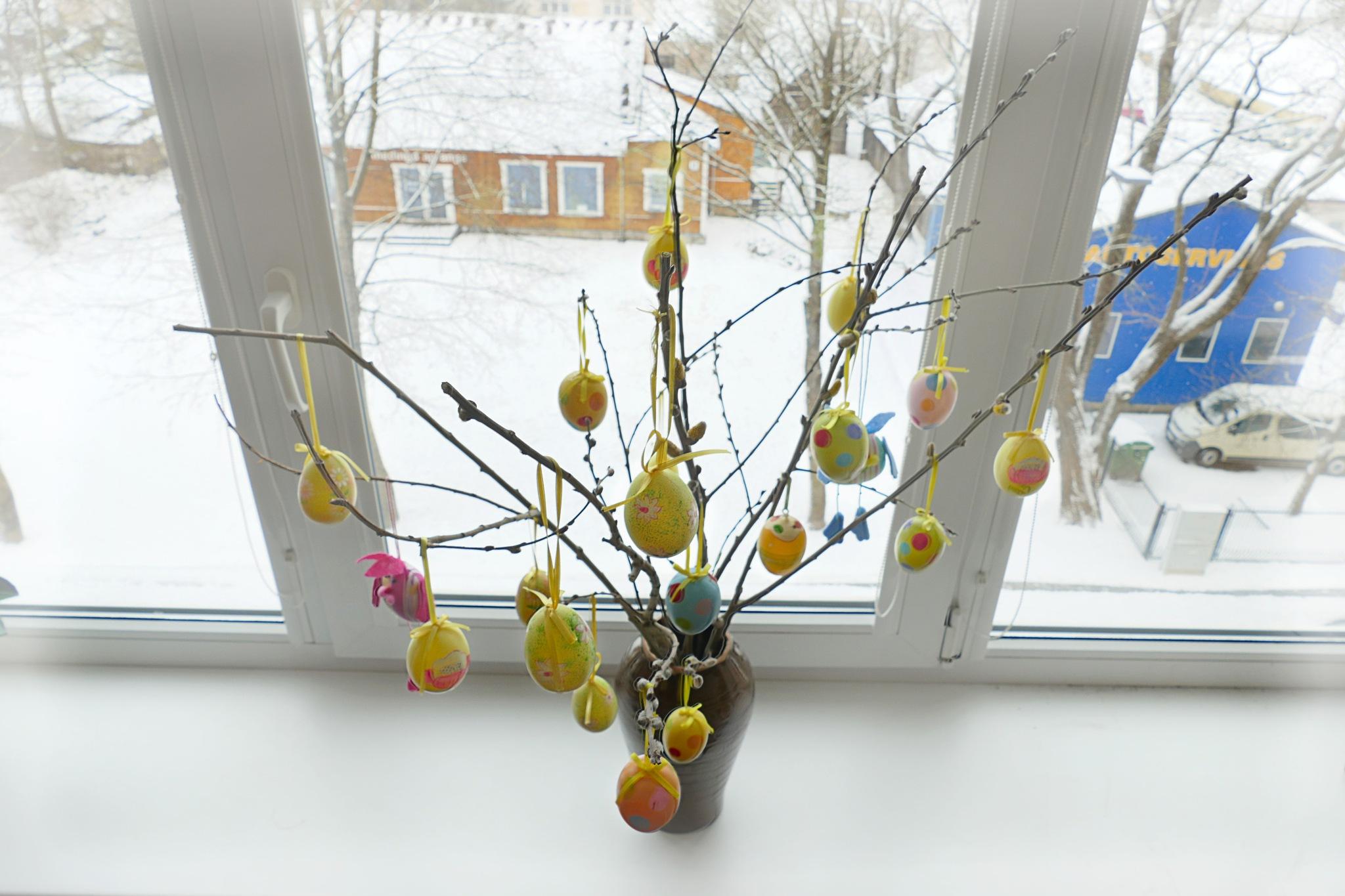 Snow for Easter... by Zenonas Meškauskas