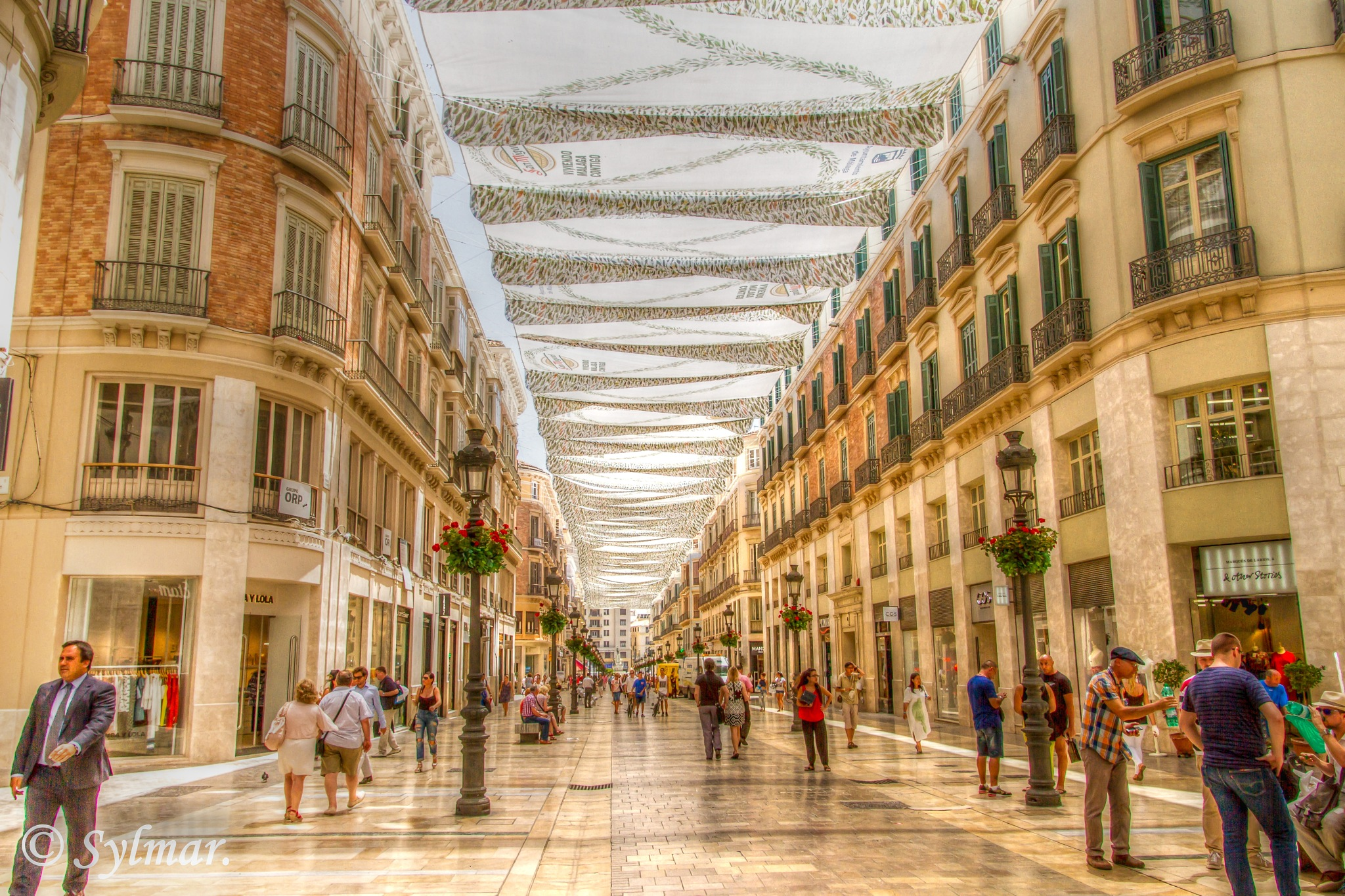 2 different countries. Malaga, Spain. by Sylmar