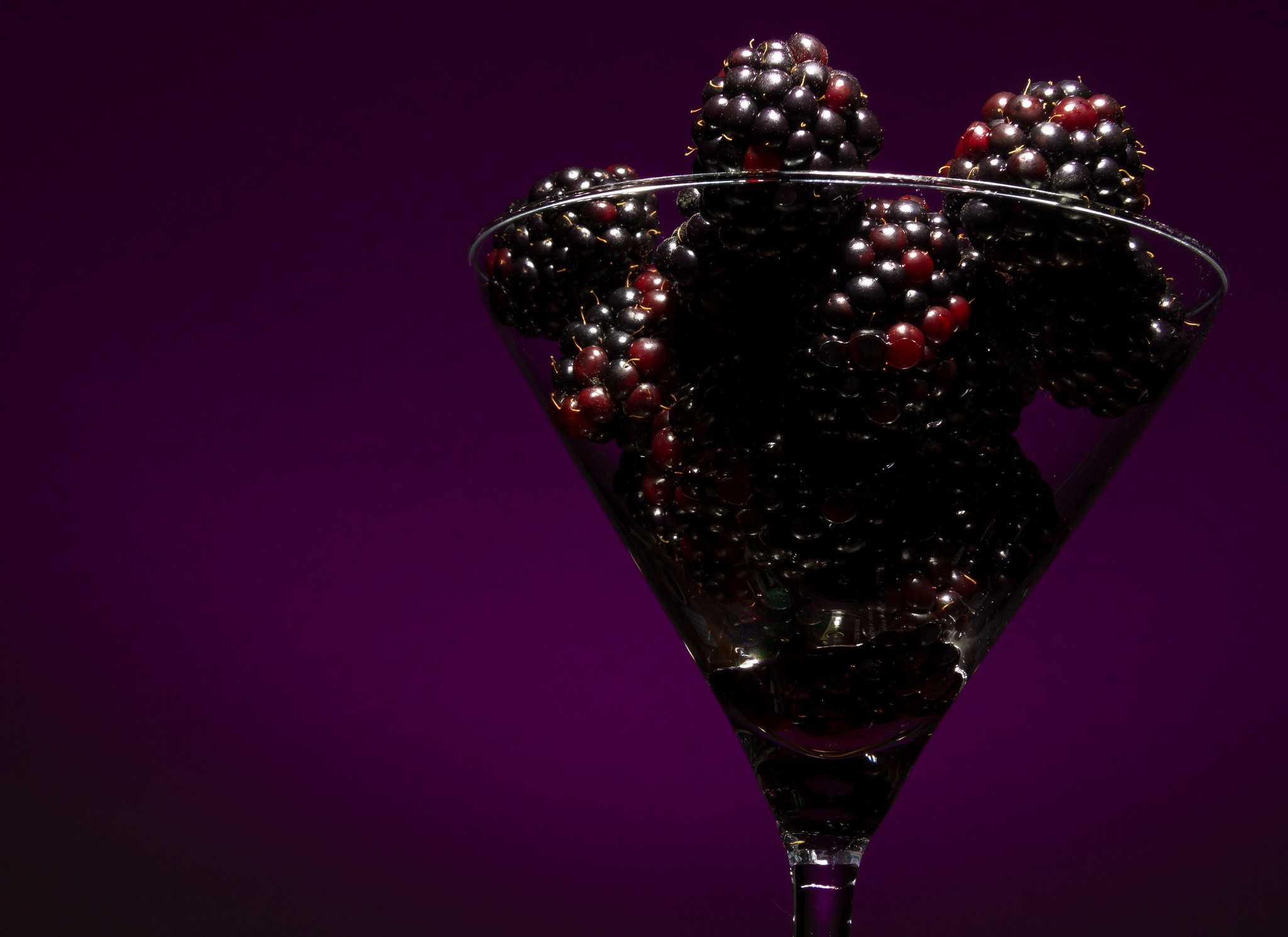 One Glass of Blackberry Please by EelkoBouma