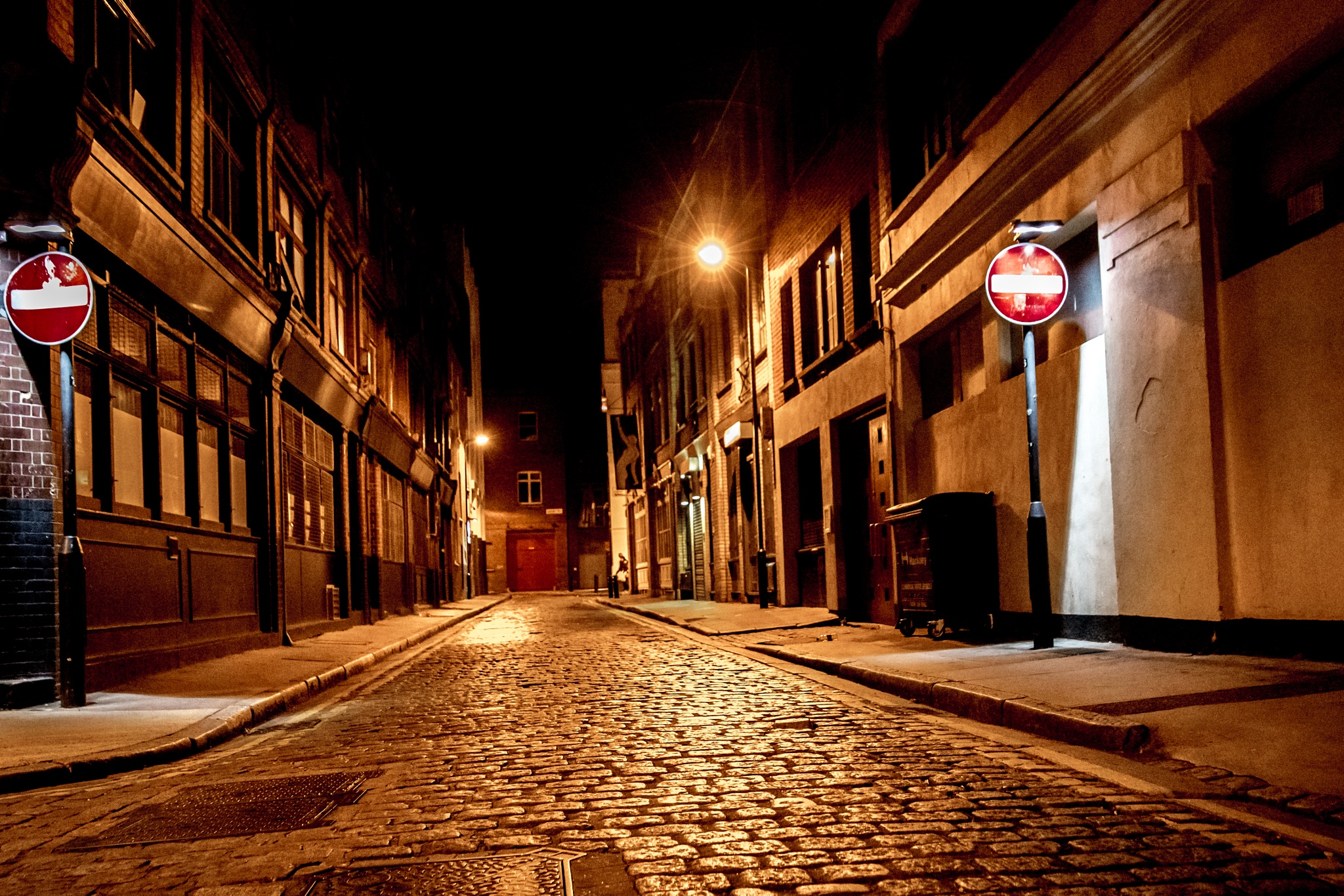 London street by Rotea Marian