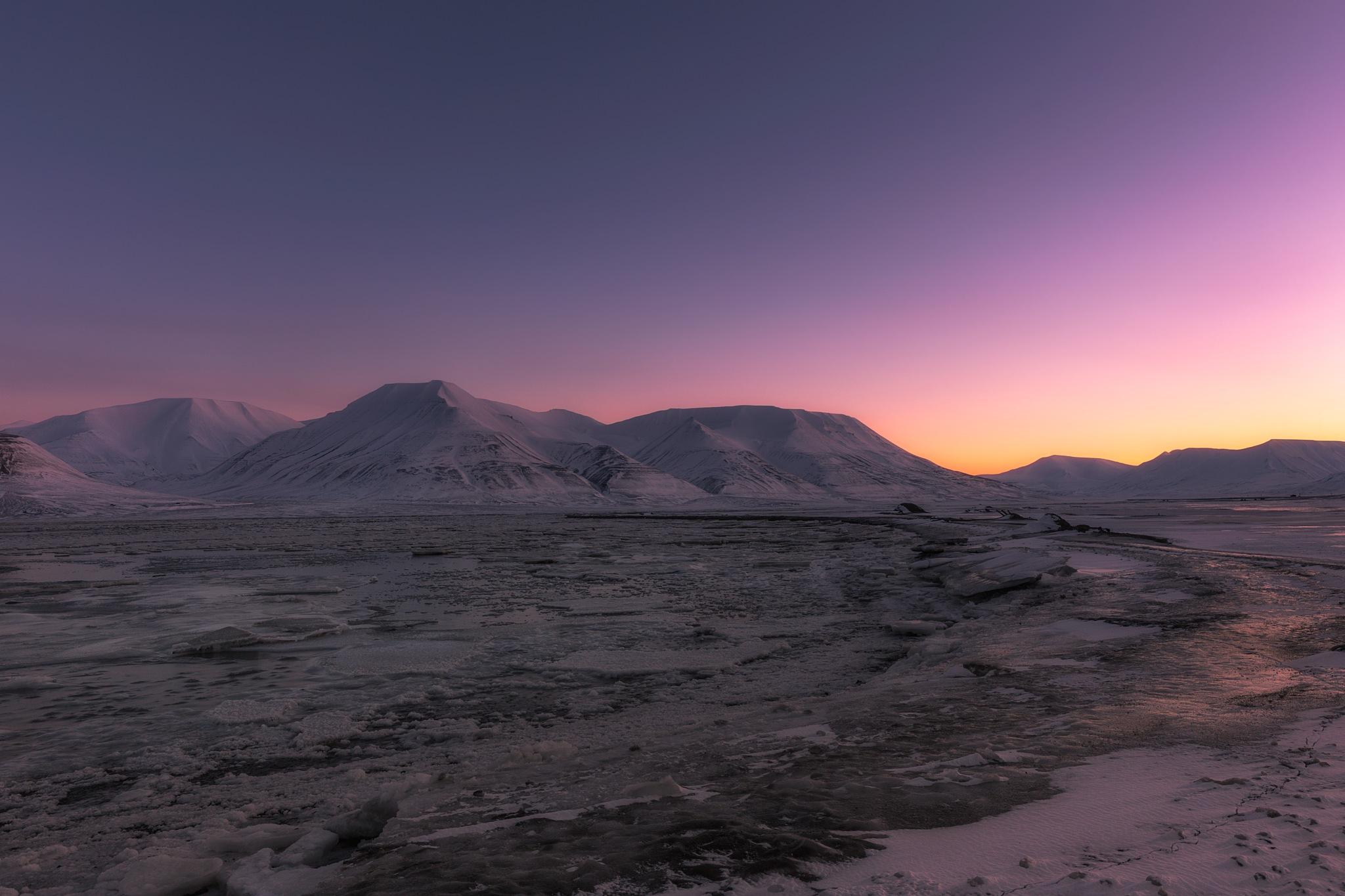 February light by Terje Nilssen