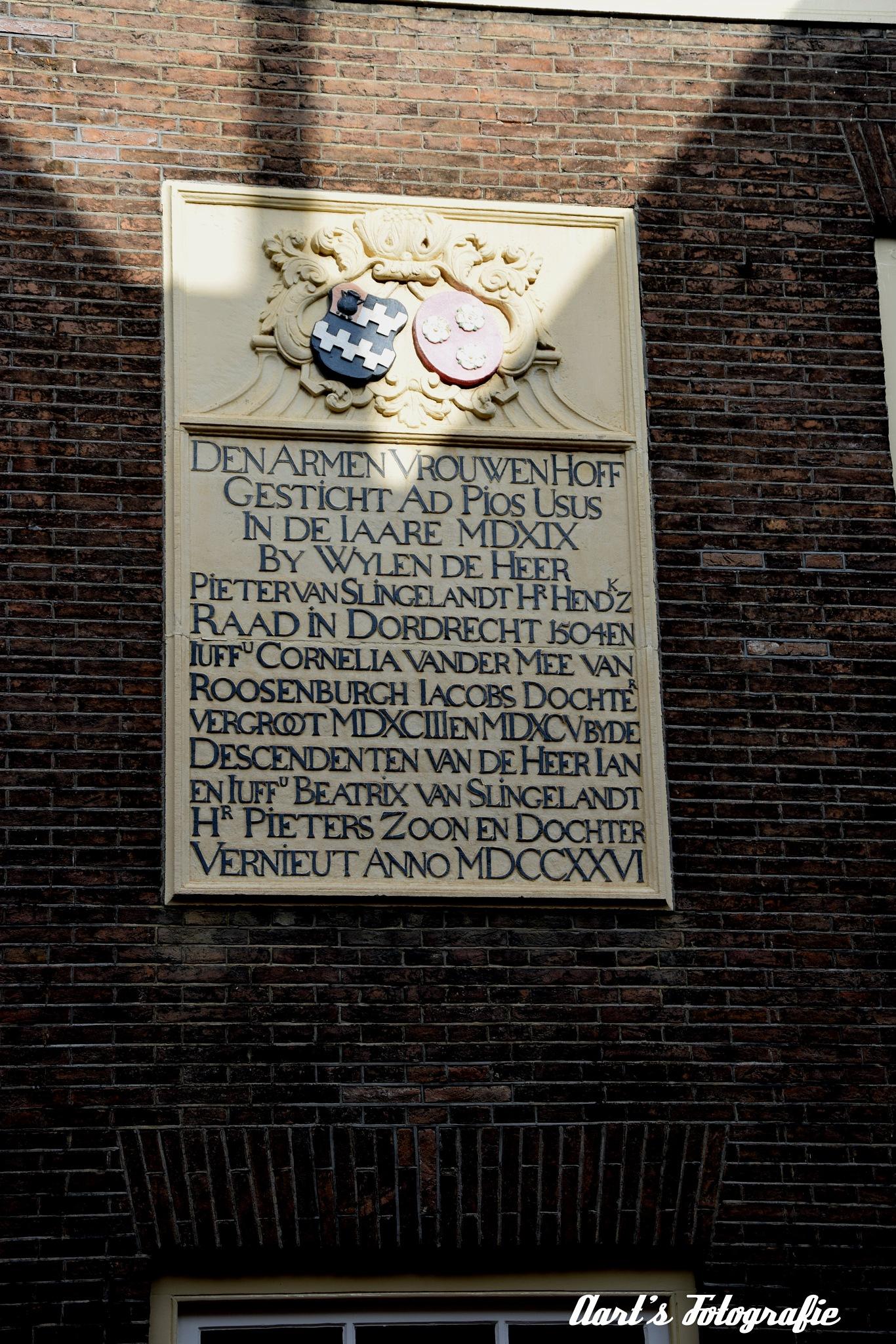 Vriesestraat Dordrecht by Aart Bol