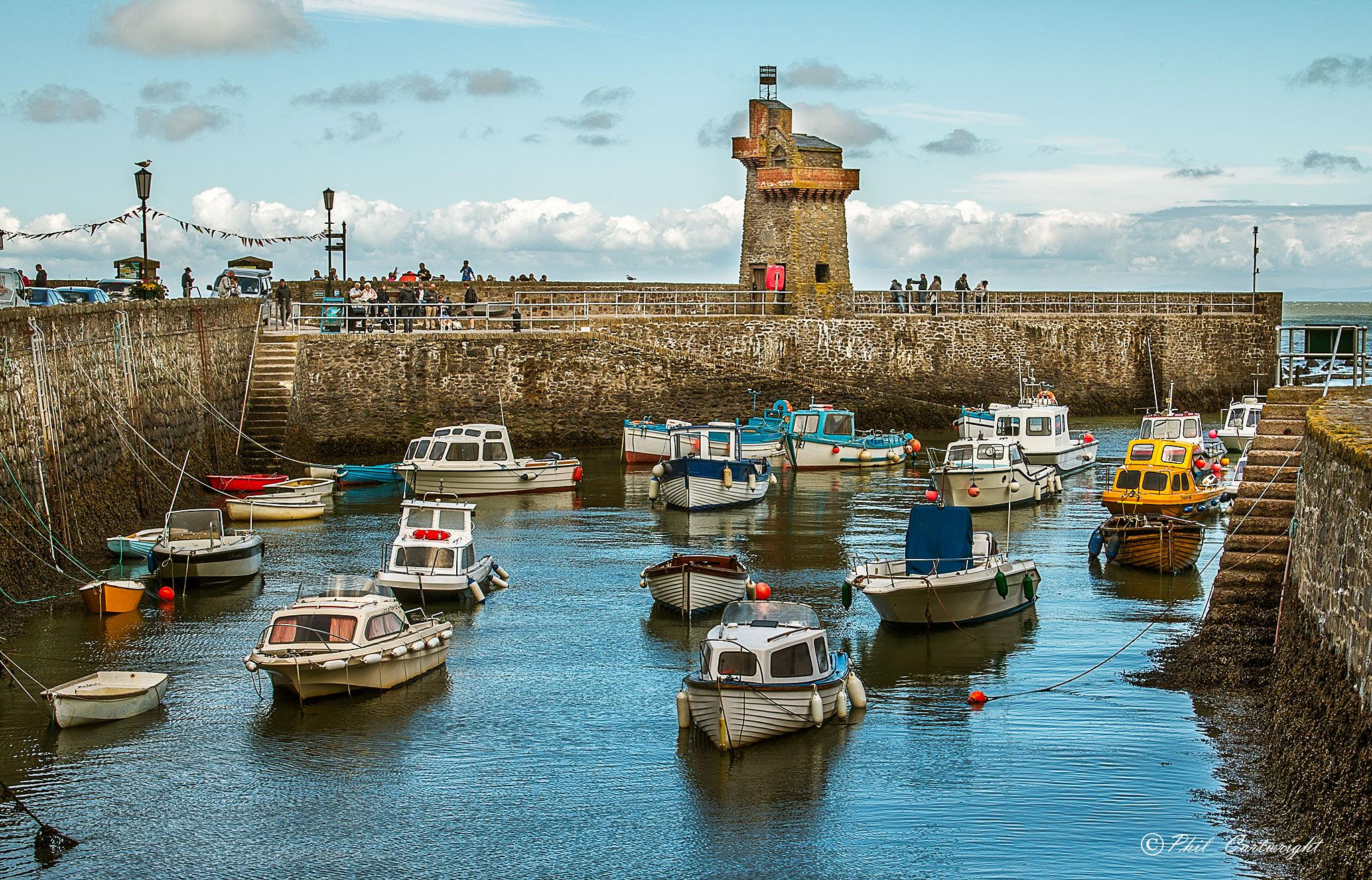 Lynmouth Harbour by PhilC
