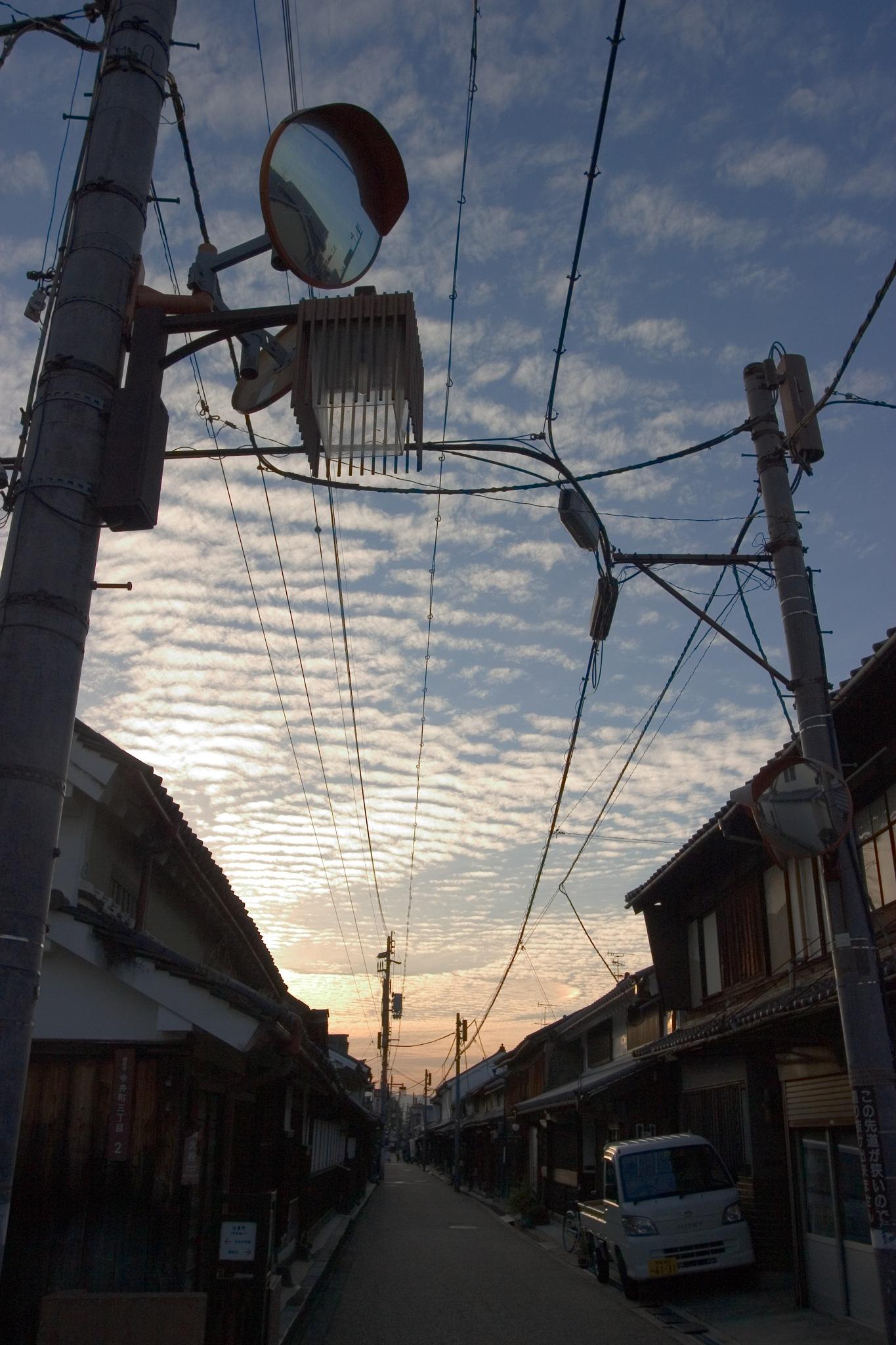 The evening sky by kaori_atusi
