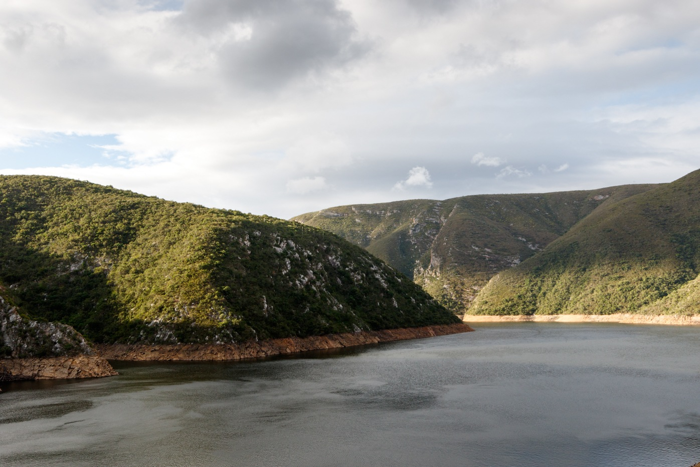 Close up view -Water inlet to the Kouga Dam by Mark de Scande