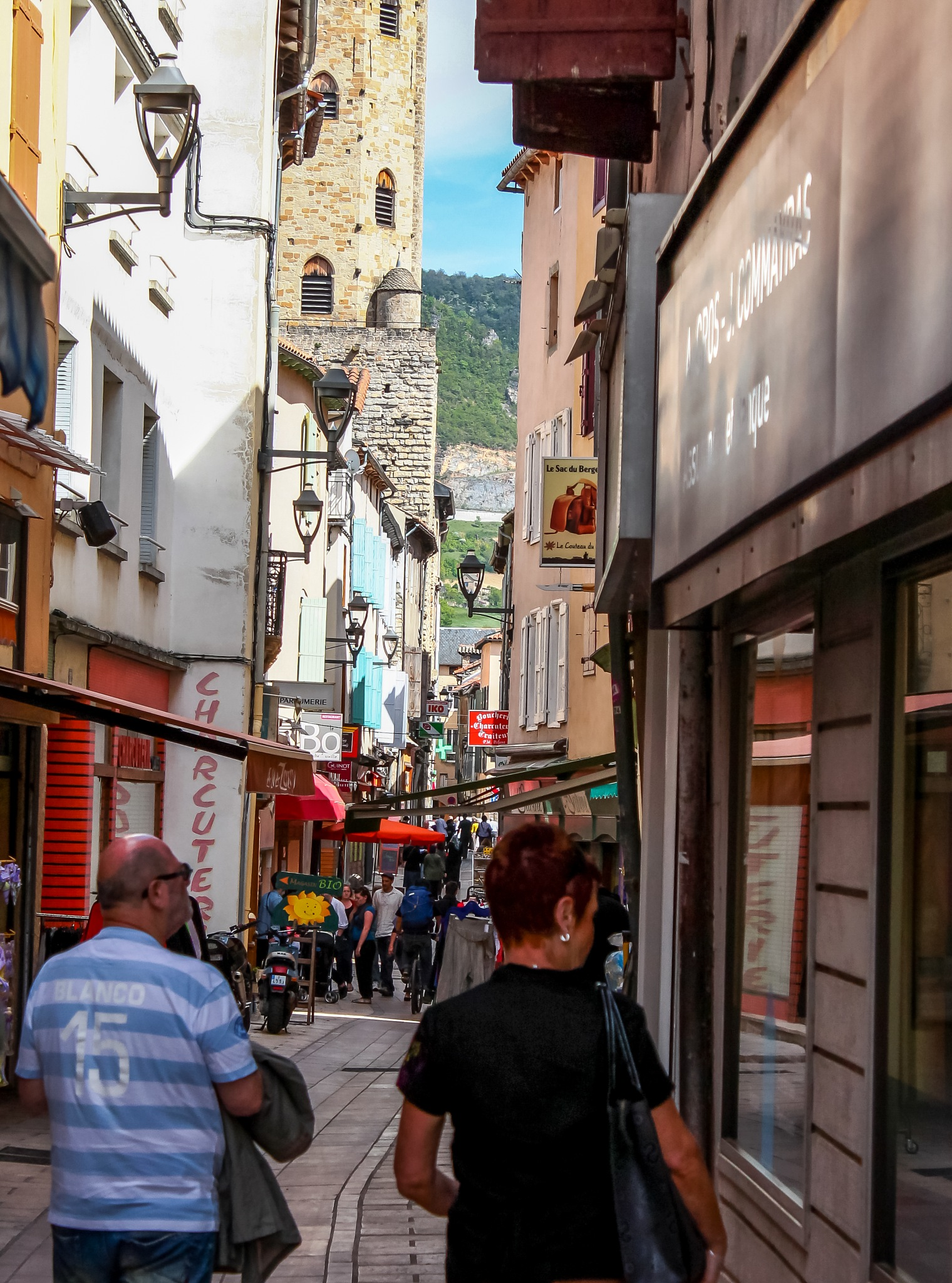 Shopping in Millau by izimvubu