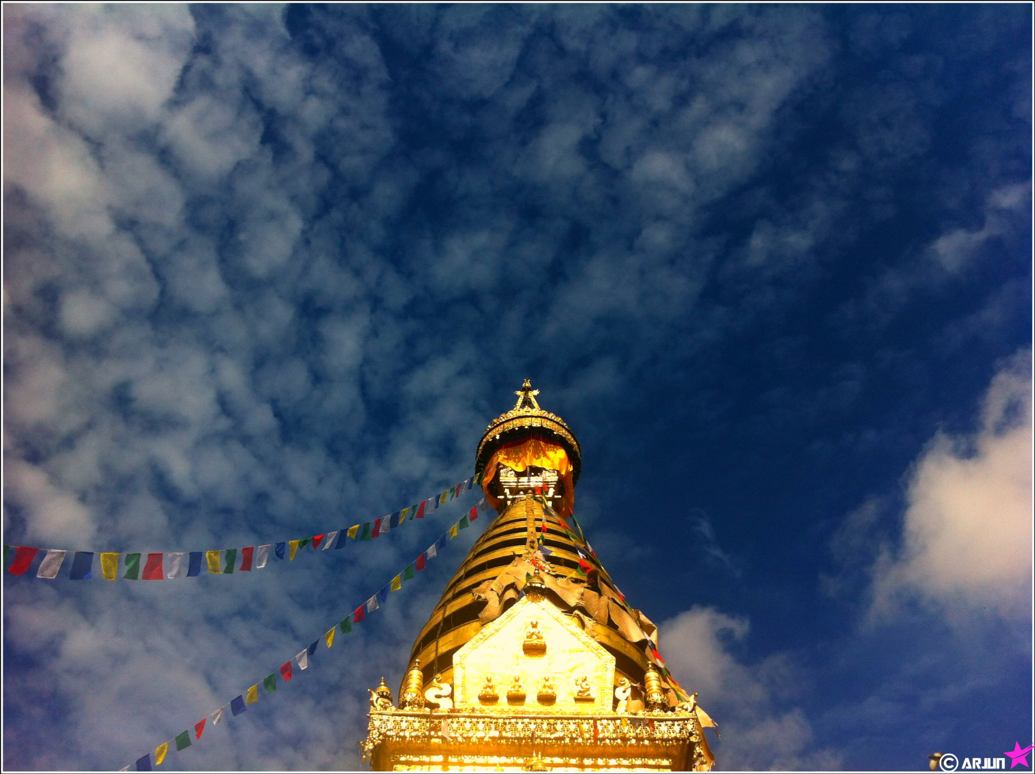 Syambhunath Temple (Monkey Temple) by Arjun Bhetwal