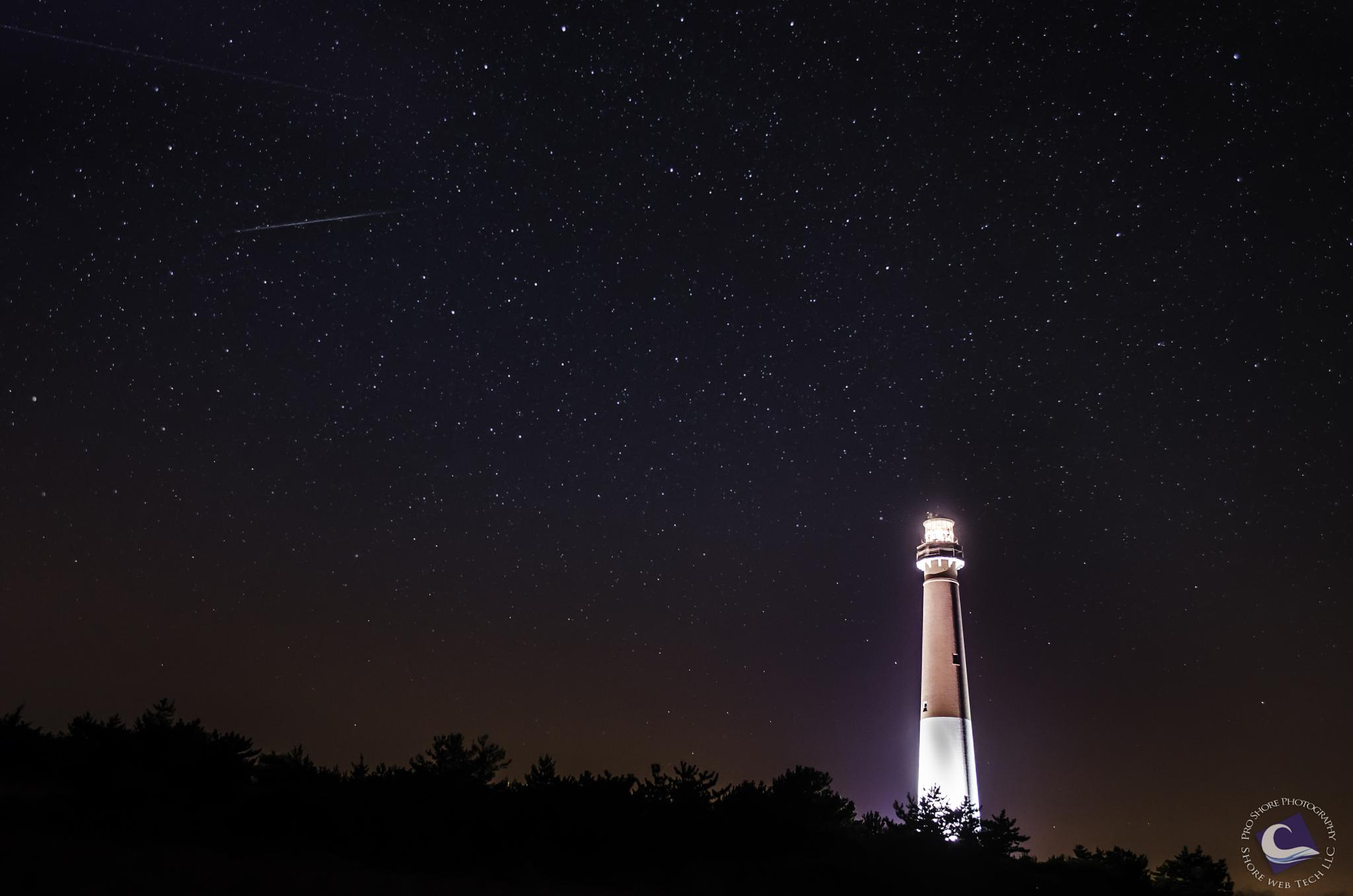 Barnegat Lighthouse Night by Heather Ponzio