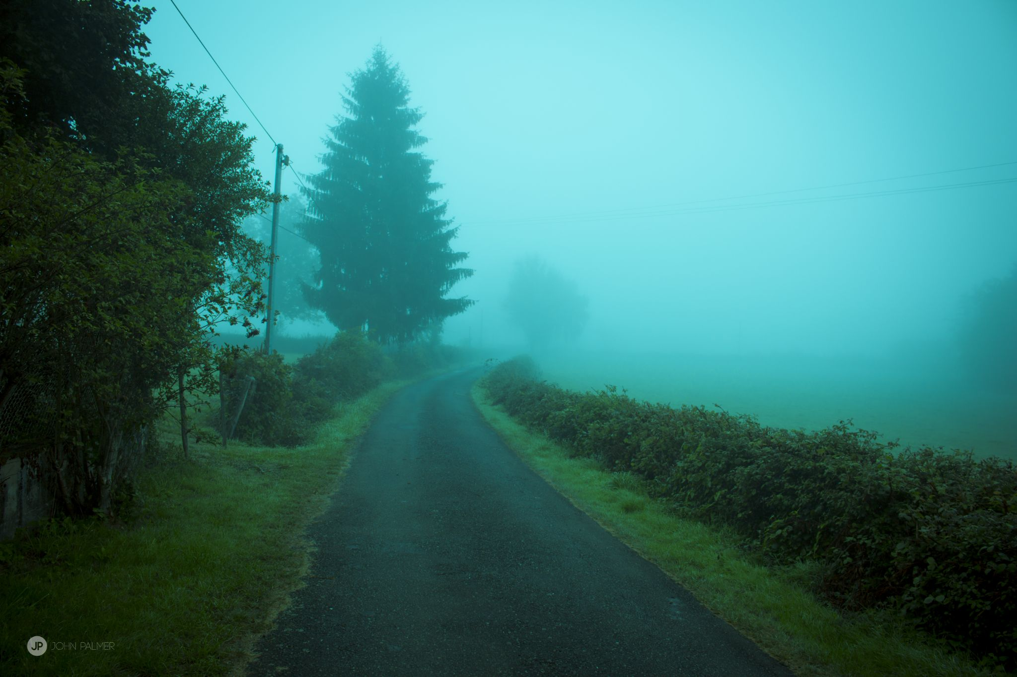 lonely road by John Palmer