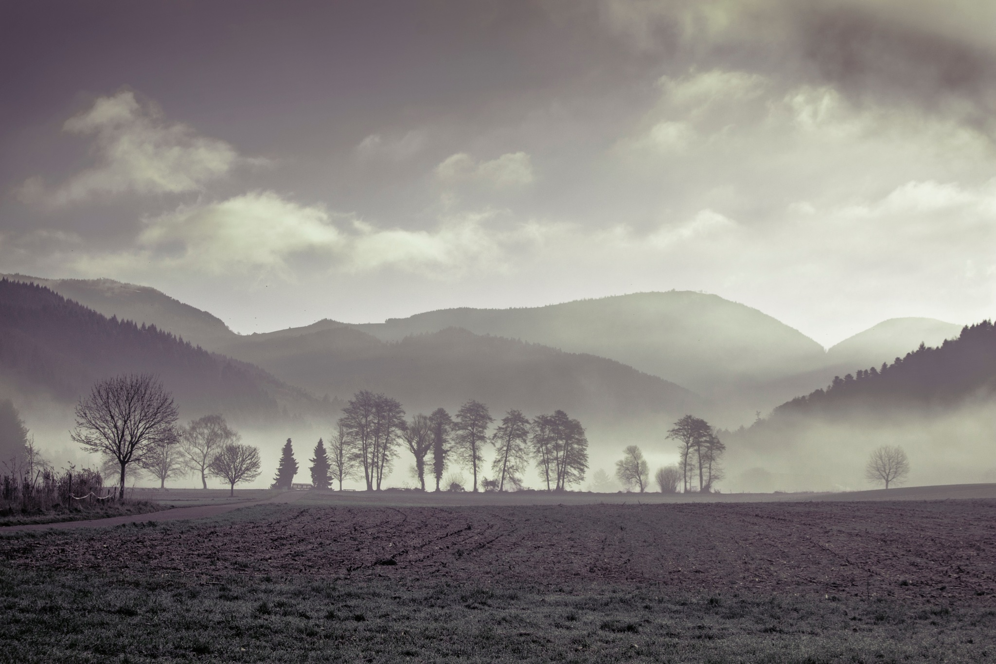 towards the valley by John Palmer