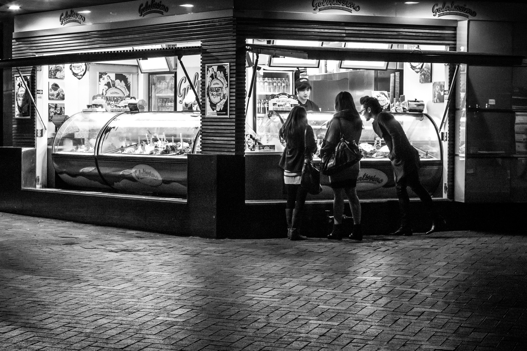 Late Night Ice-Cream by Paul Tuckley