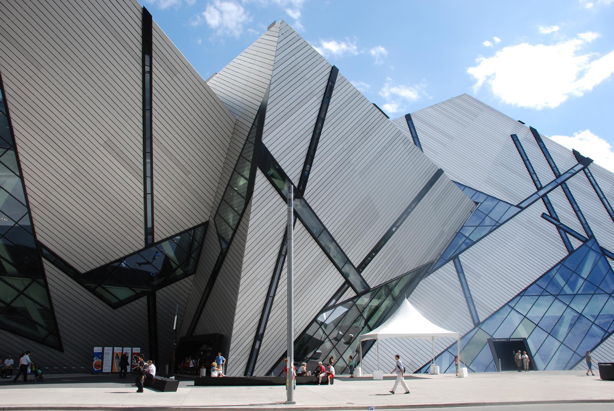 Royal Ontario museum Toronto by Cristina Bonani