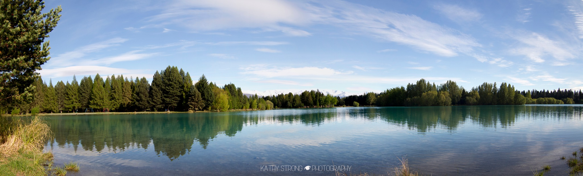 Lake Ruataniwha Twizel NZ by Kathy Strong
