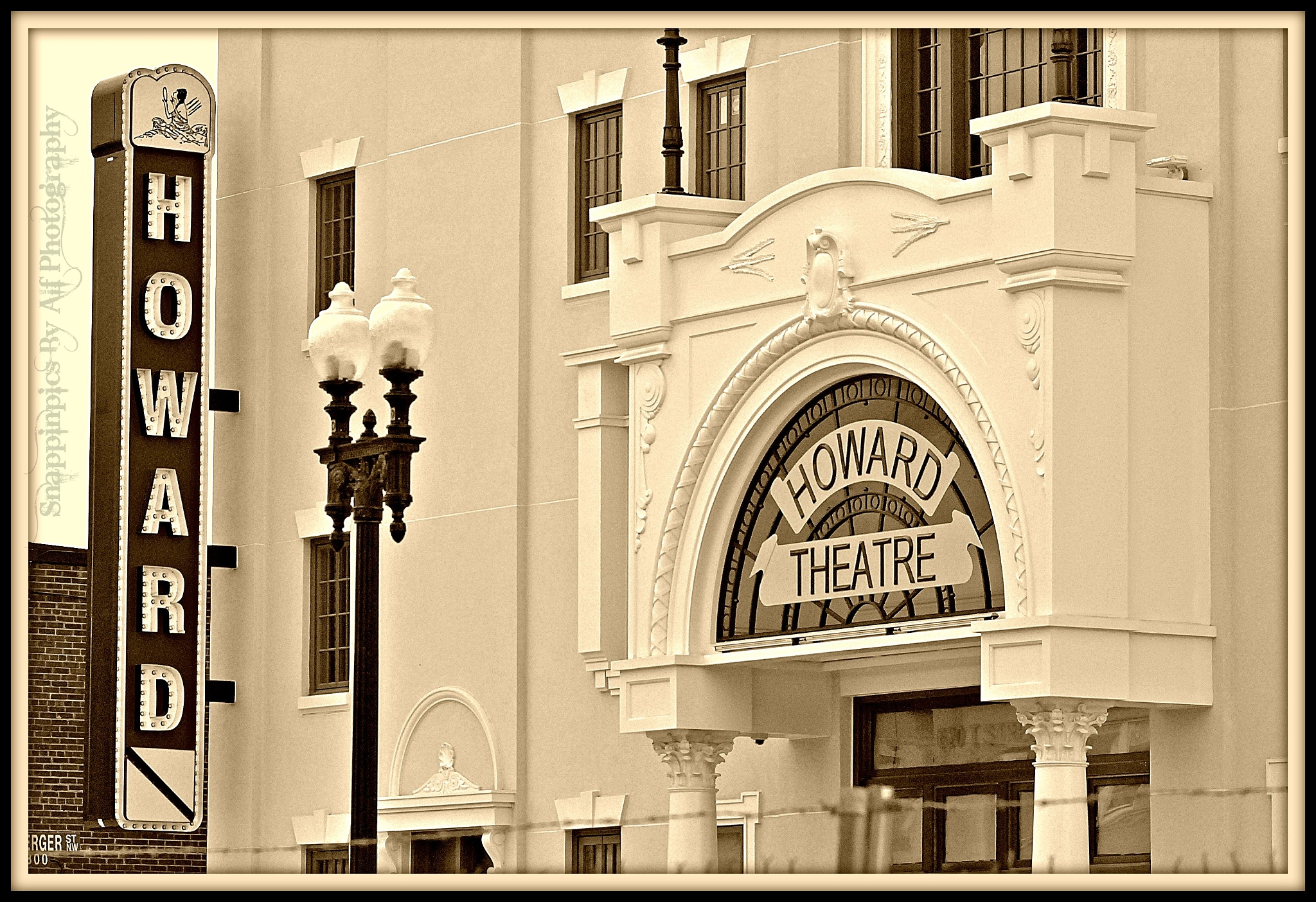 Howard Theatre  by SnappinpicsByAlfPhotography