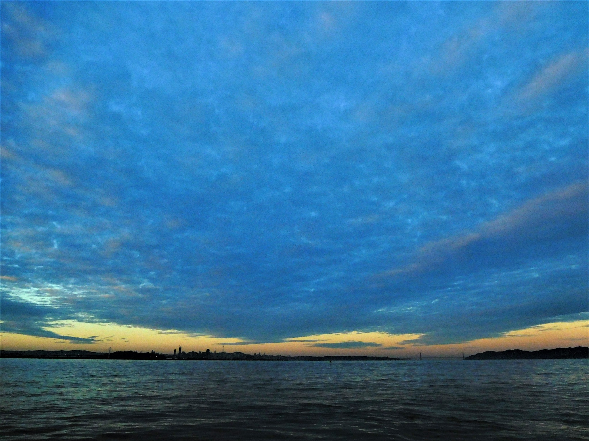 ACROSS THE BAY (Winter Solstice Morning) by SEYMOUR_NAO