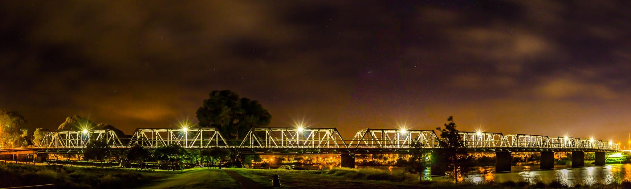 Dublin St Bridge #2 by AnnekaBarrittphotographyNZ