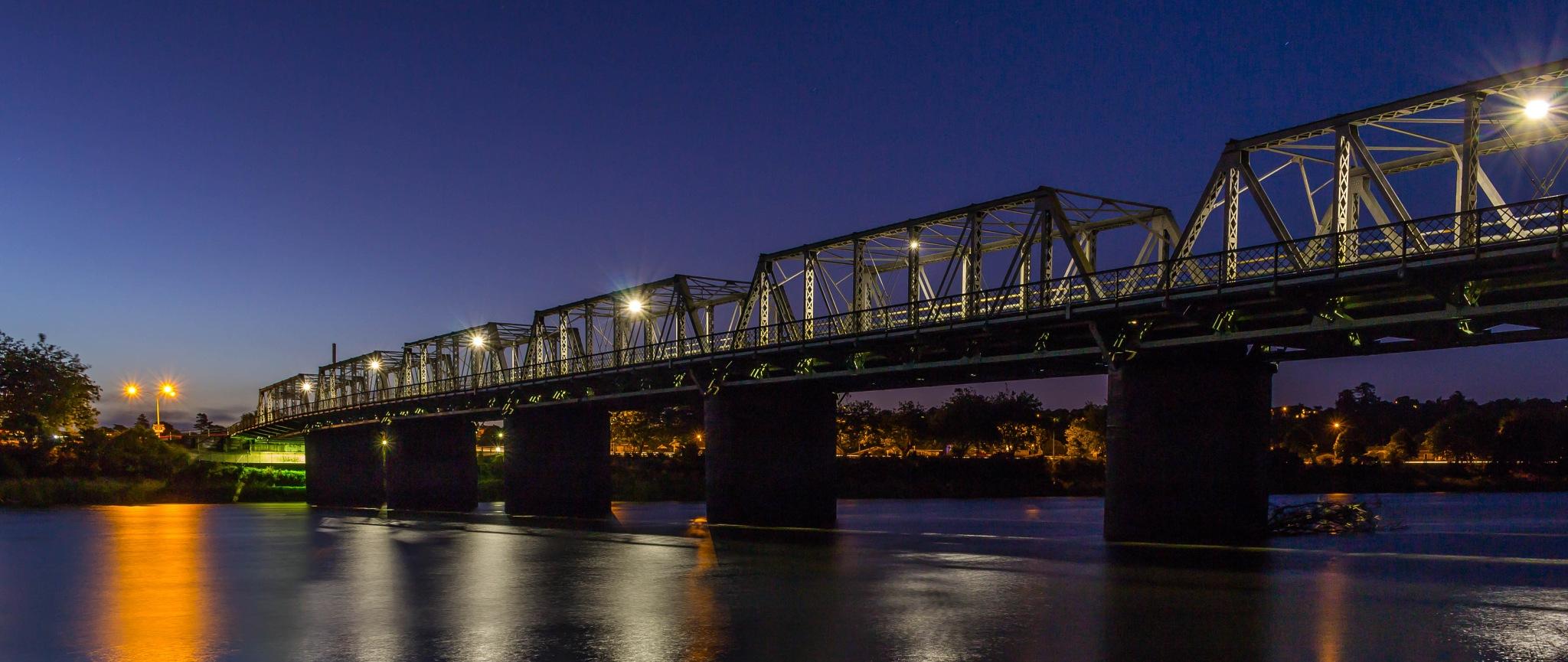 Dublin Street Bridge, Wanganui by AnnekaBarrittphotographyNZ