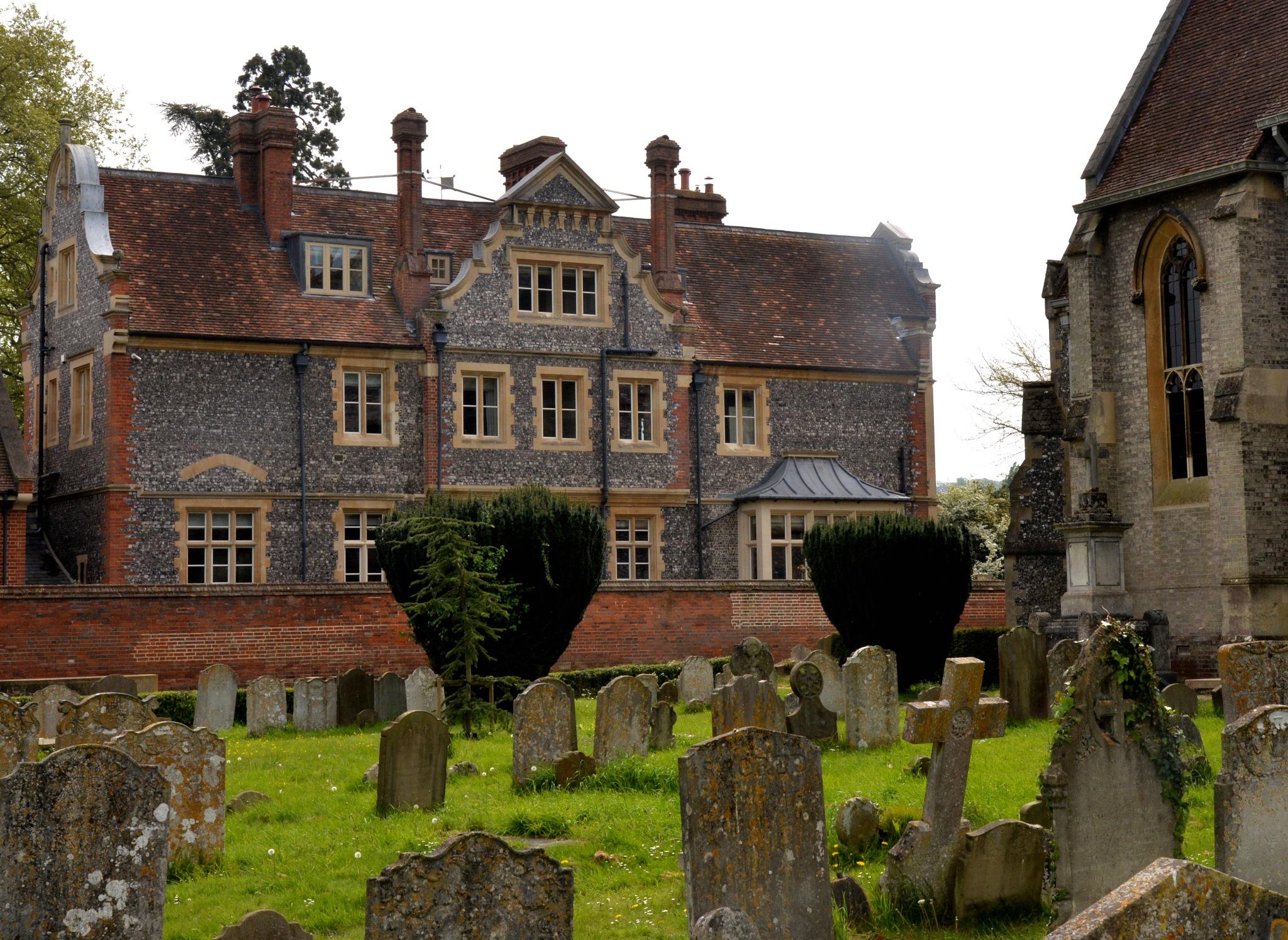 across the church yard by trevvie_uk