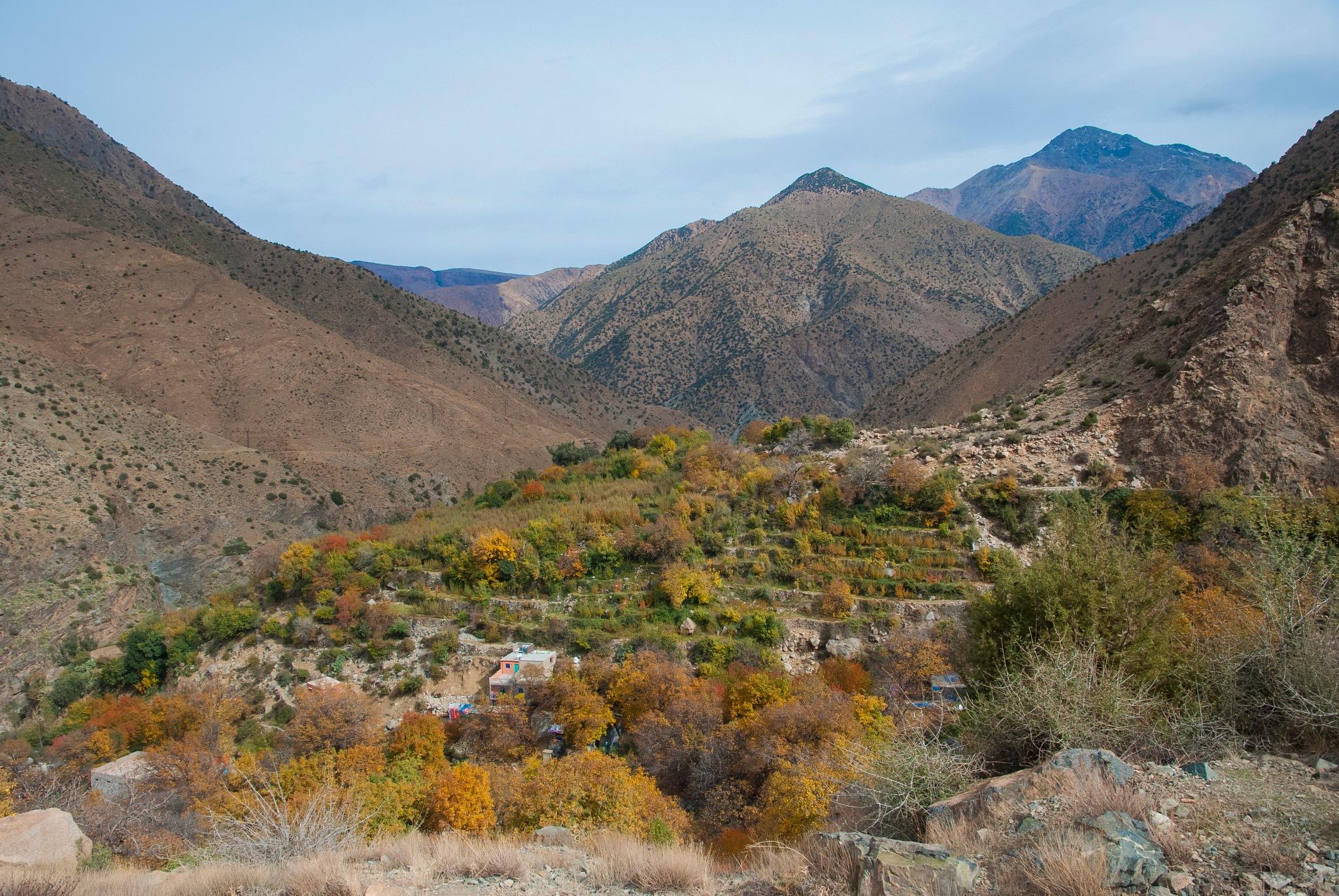 Atlas Mountains Near Marrakech by GWHMantel
