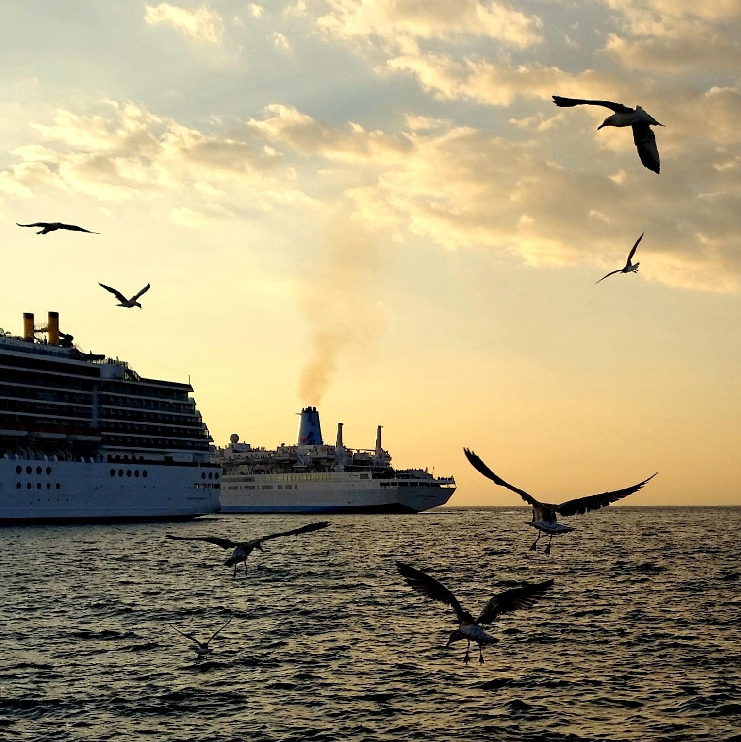 parto con ogni nave di questo porto ... by Adelaide