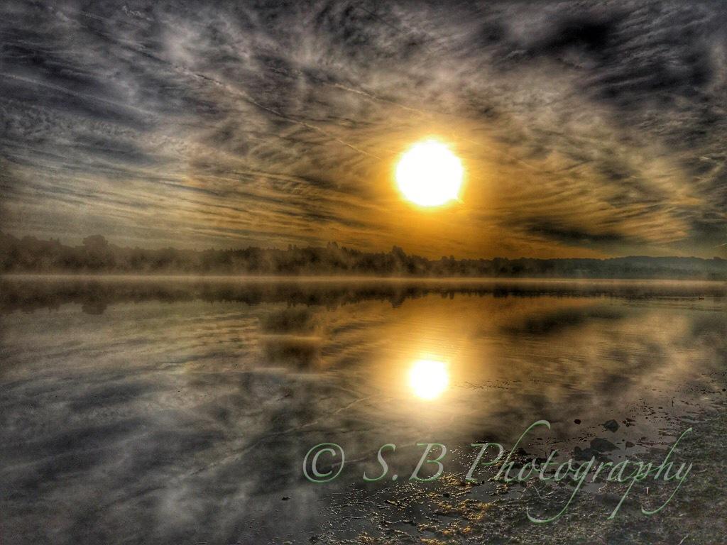 Albert Village Lake by Bullography