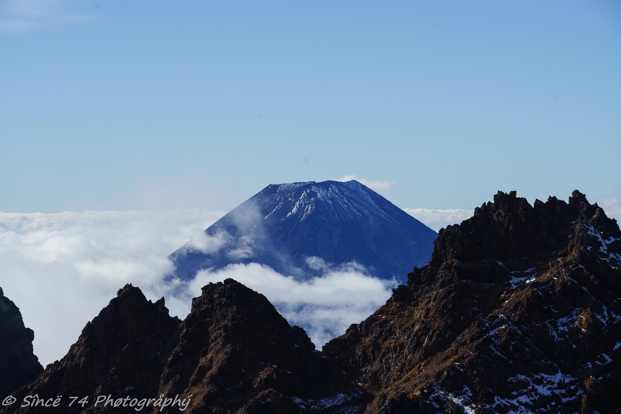 Mount Ngauruhoe, North island by Since 74 Photography